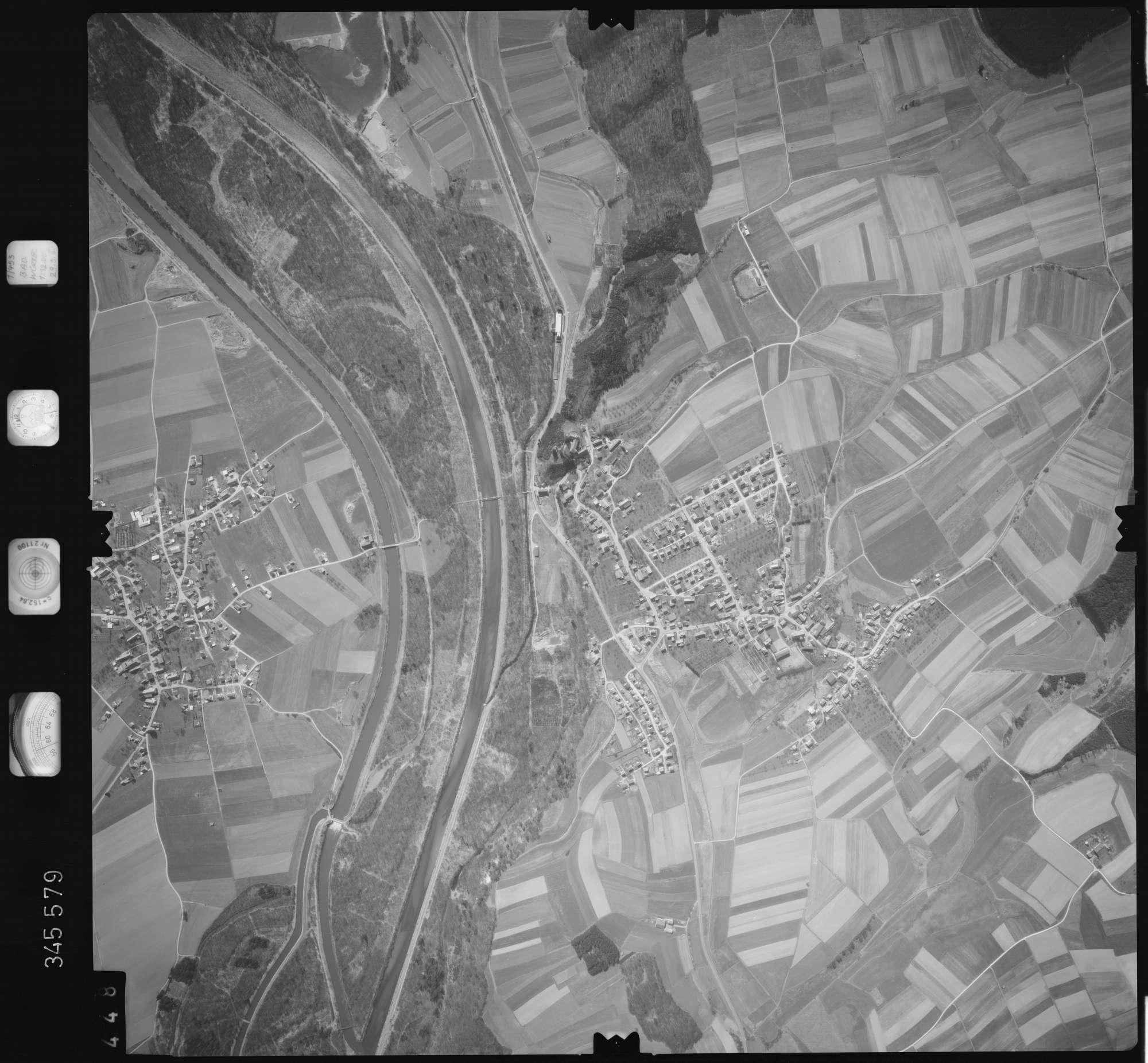 Luftbild: Film 46 Bildnr. 448, Bild 1