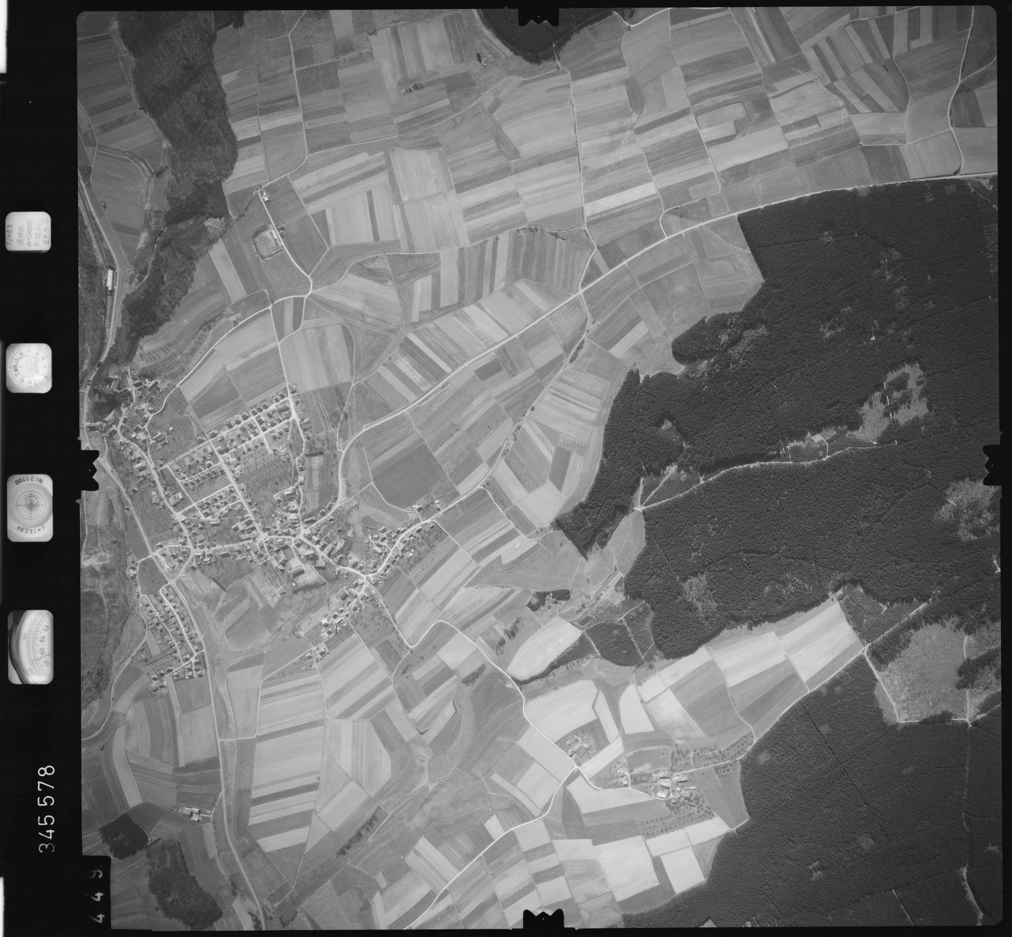 Luftbild: Film 46 Bildnr. 449, Bild 1