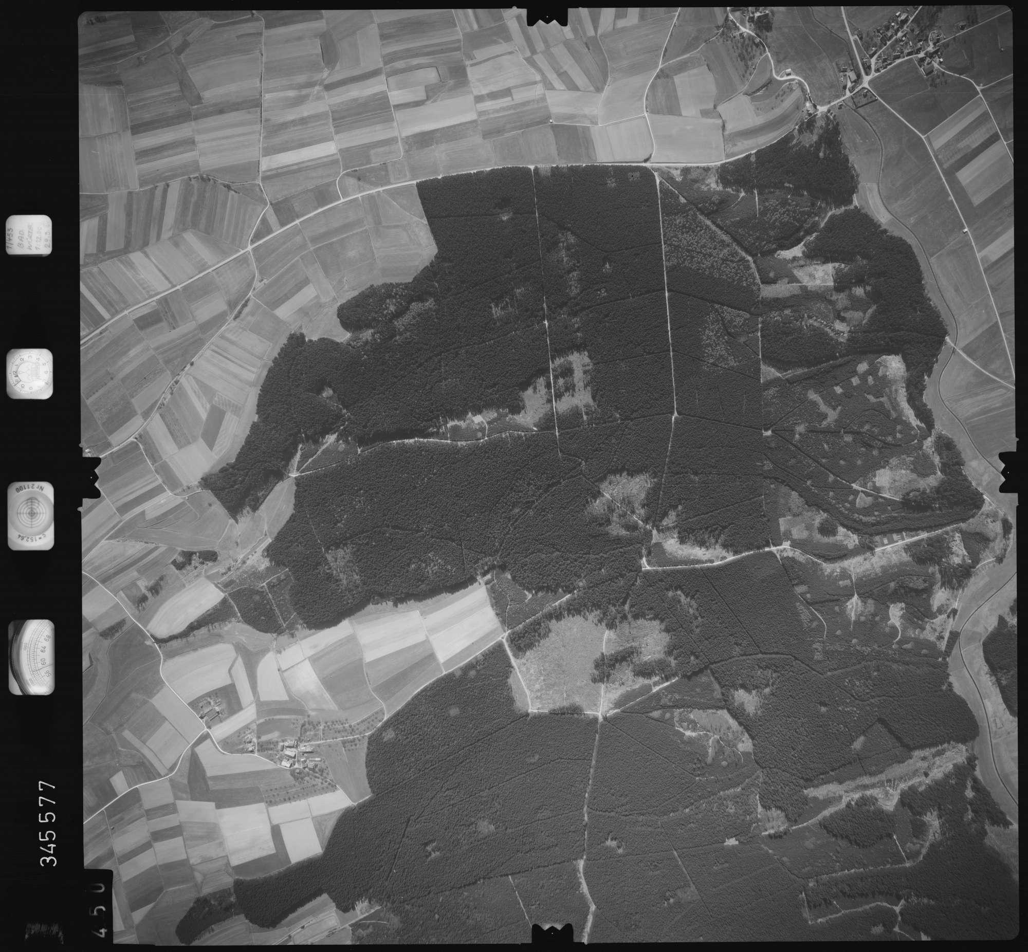 Luftbild: Film 46 Bildnr. 450, Bild 1