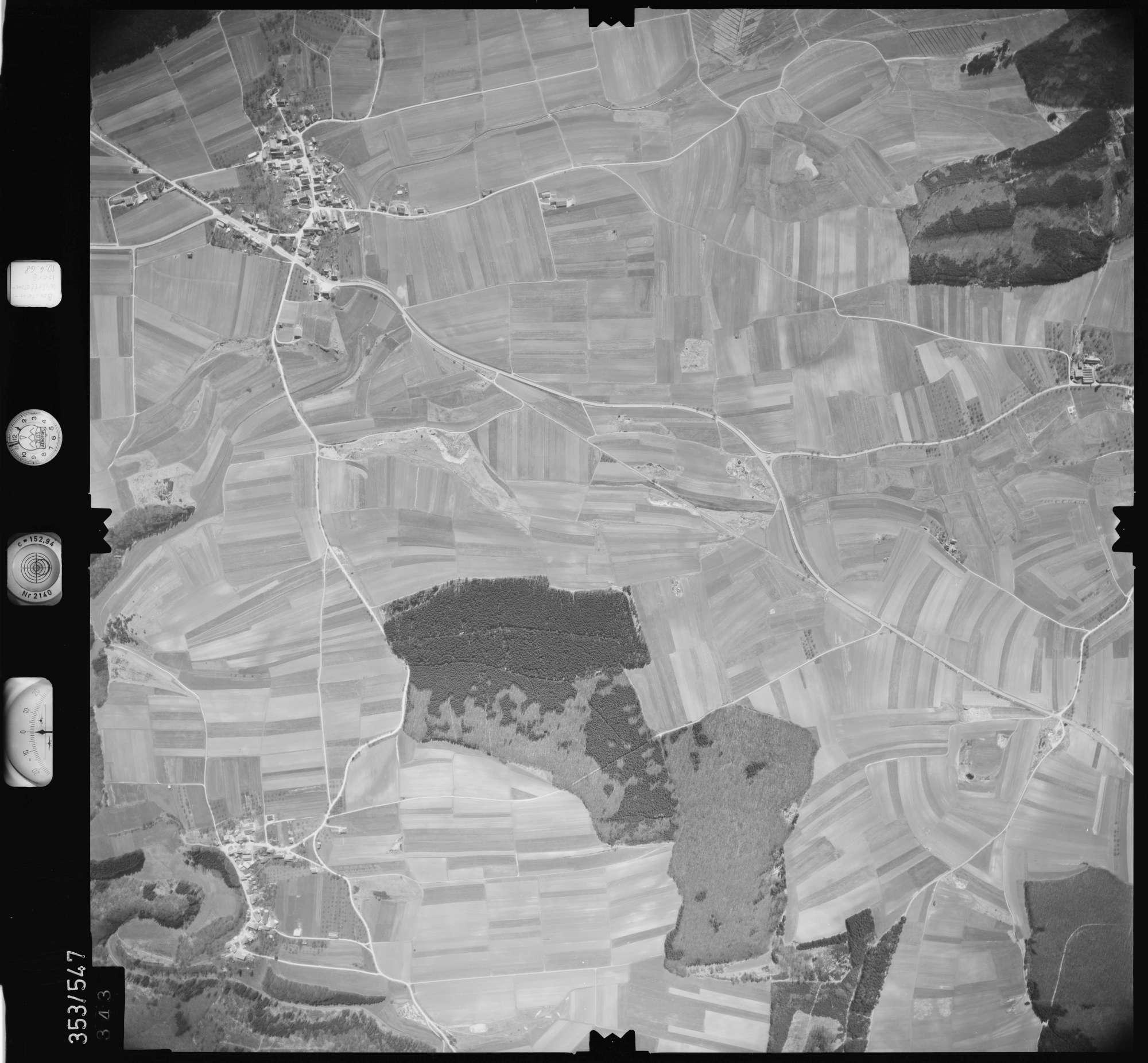 Luftbild: Film 41 Bildnr. 343, Bild 1