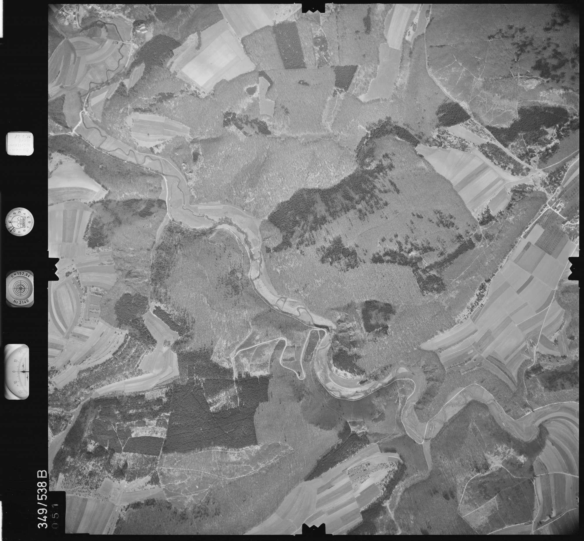 Luftbild: Film 45 Bildnr. 51, Bild 1
