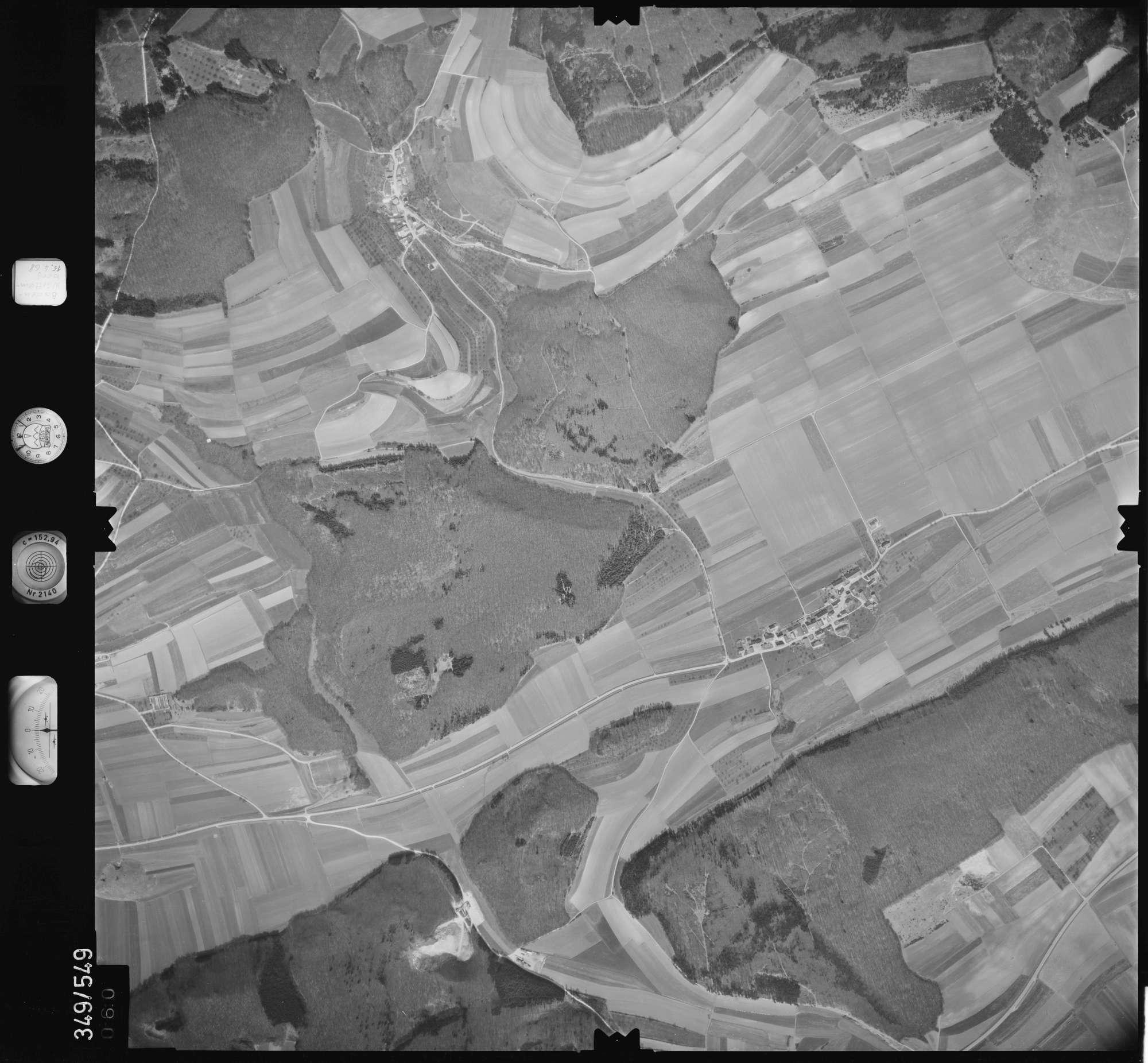 Luftbild: Film 45 Bildnr. 60, Bild 1