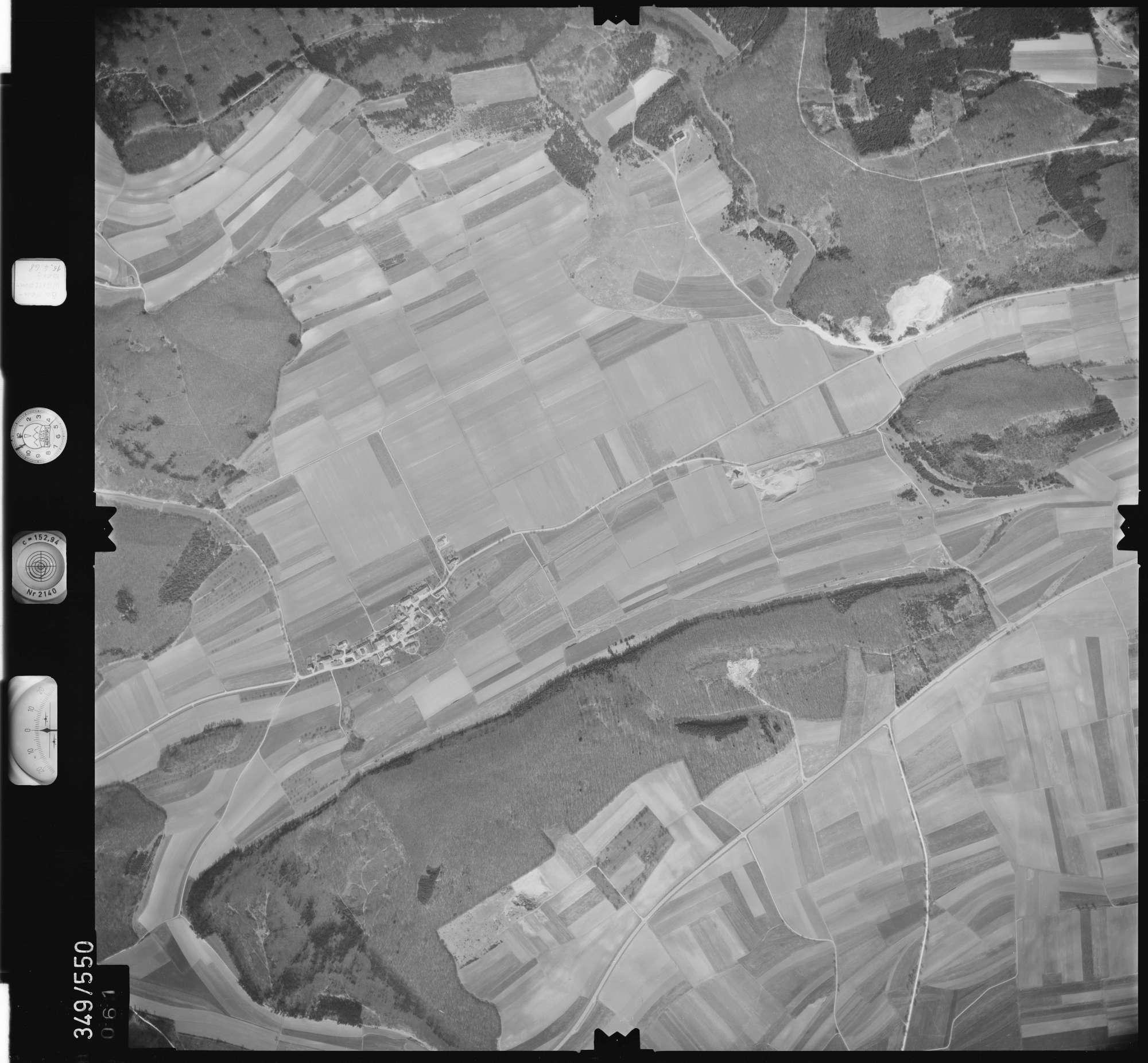 Luftbild: Film 45 Bildnr. 61, Bild 1
