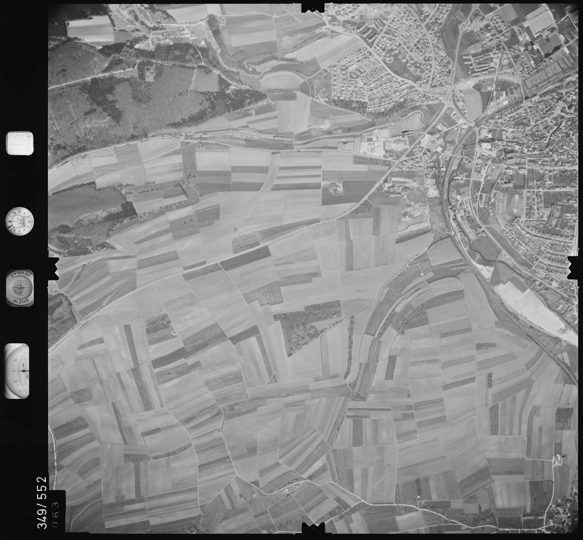 Luftbild: Film 45 Bildnr. 63, Bild 1