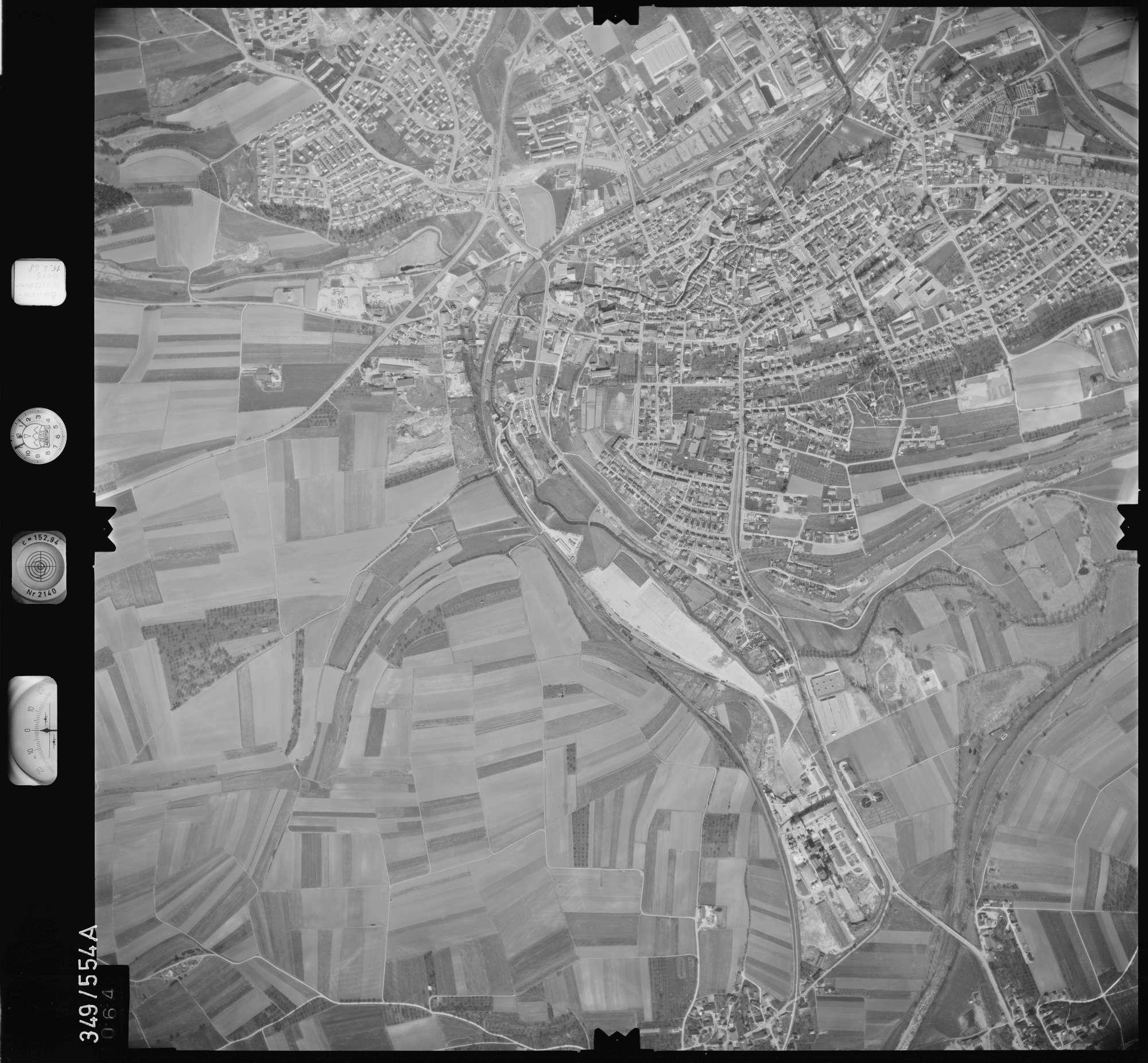 Luftbild: Film 45 Bildnr. 64, Bild 1