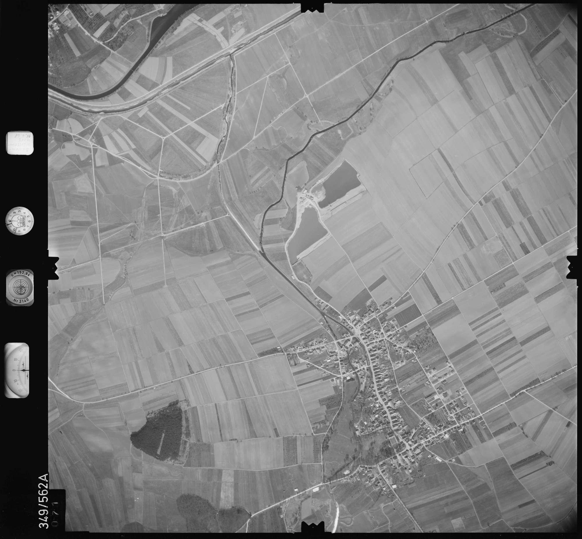 Luftbild: Film 45 Bildnr. 71, Bild 1