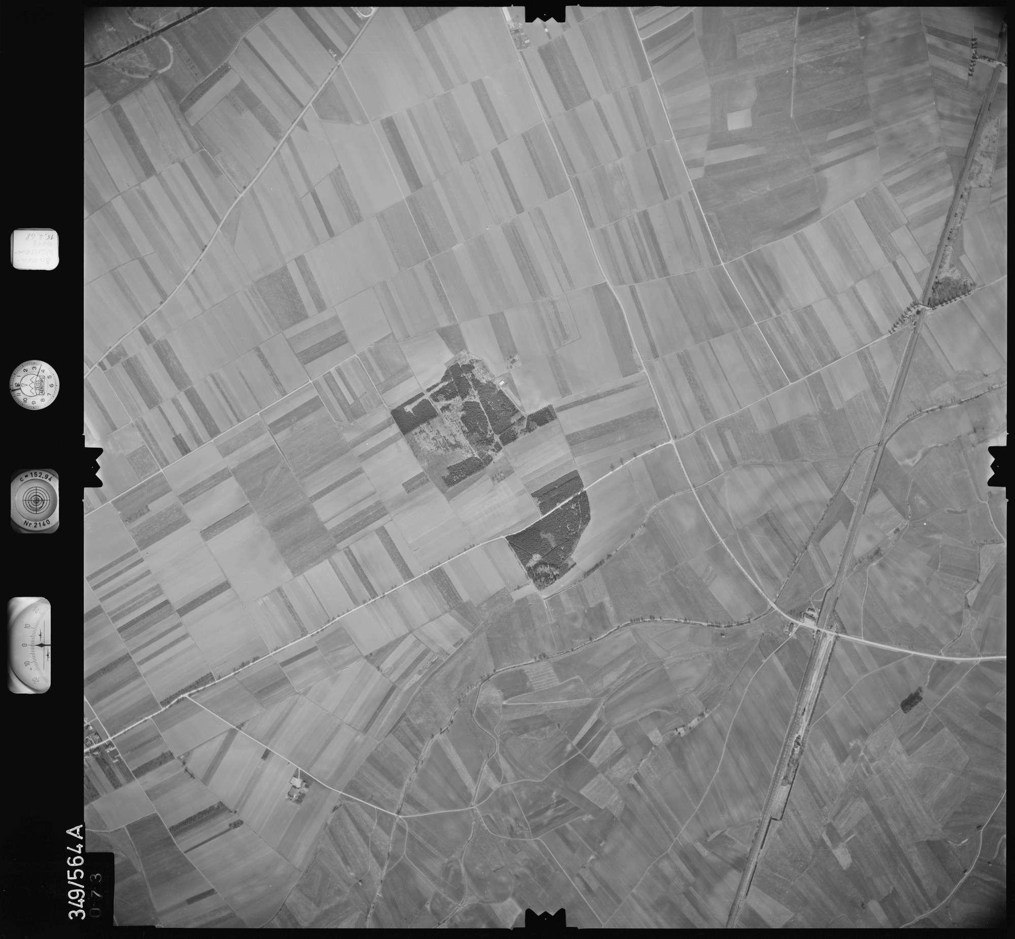 Luftbild: Film 45 Bildnr. 73, Bild 1