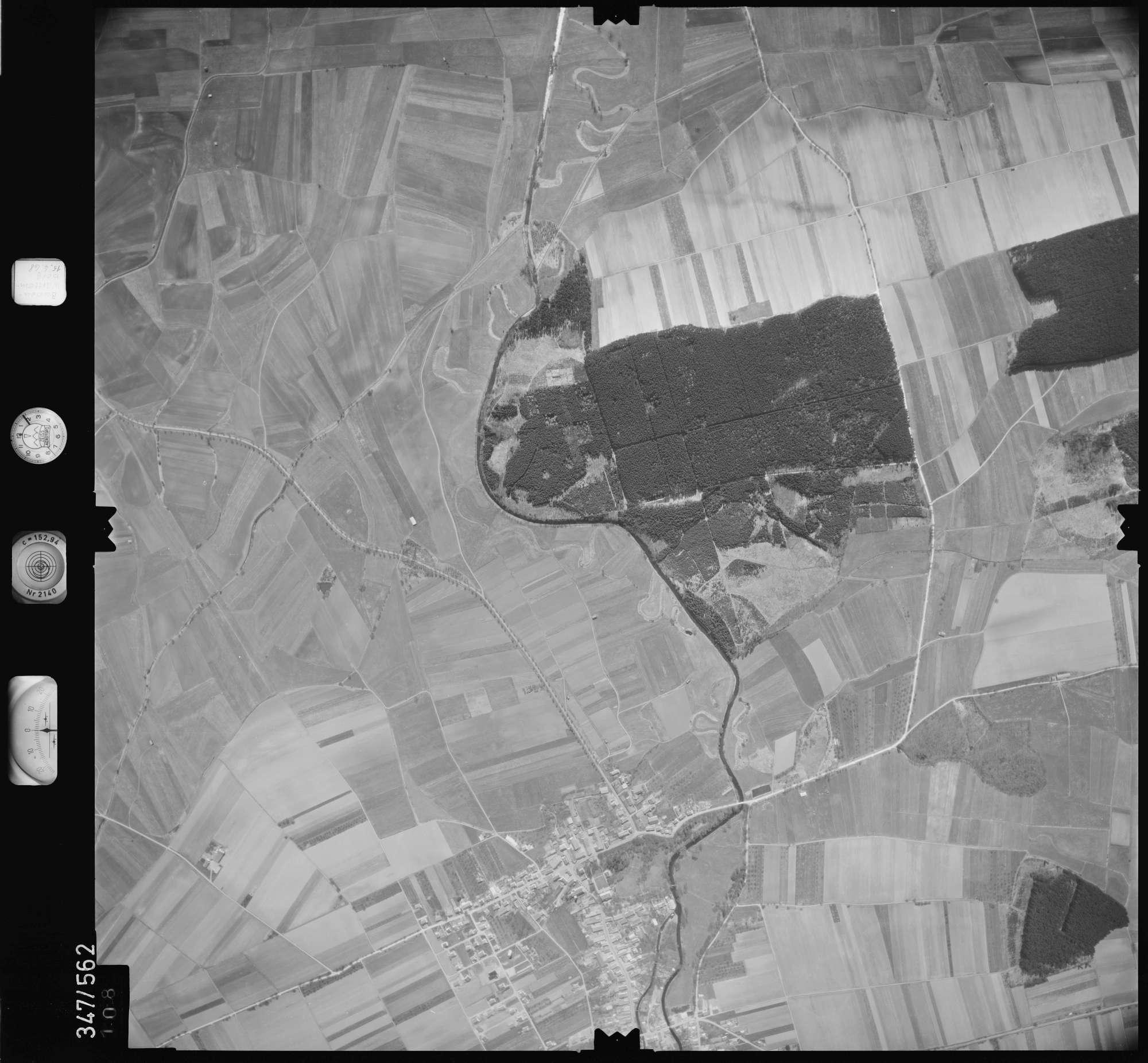 Luftbild: Film 45 Bildnr. 108, Bild 1