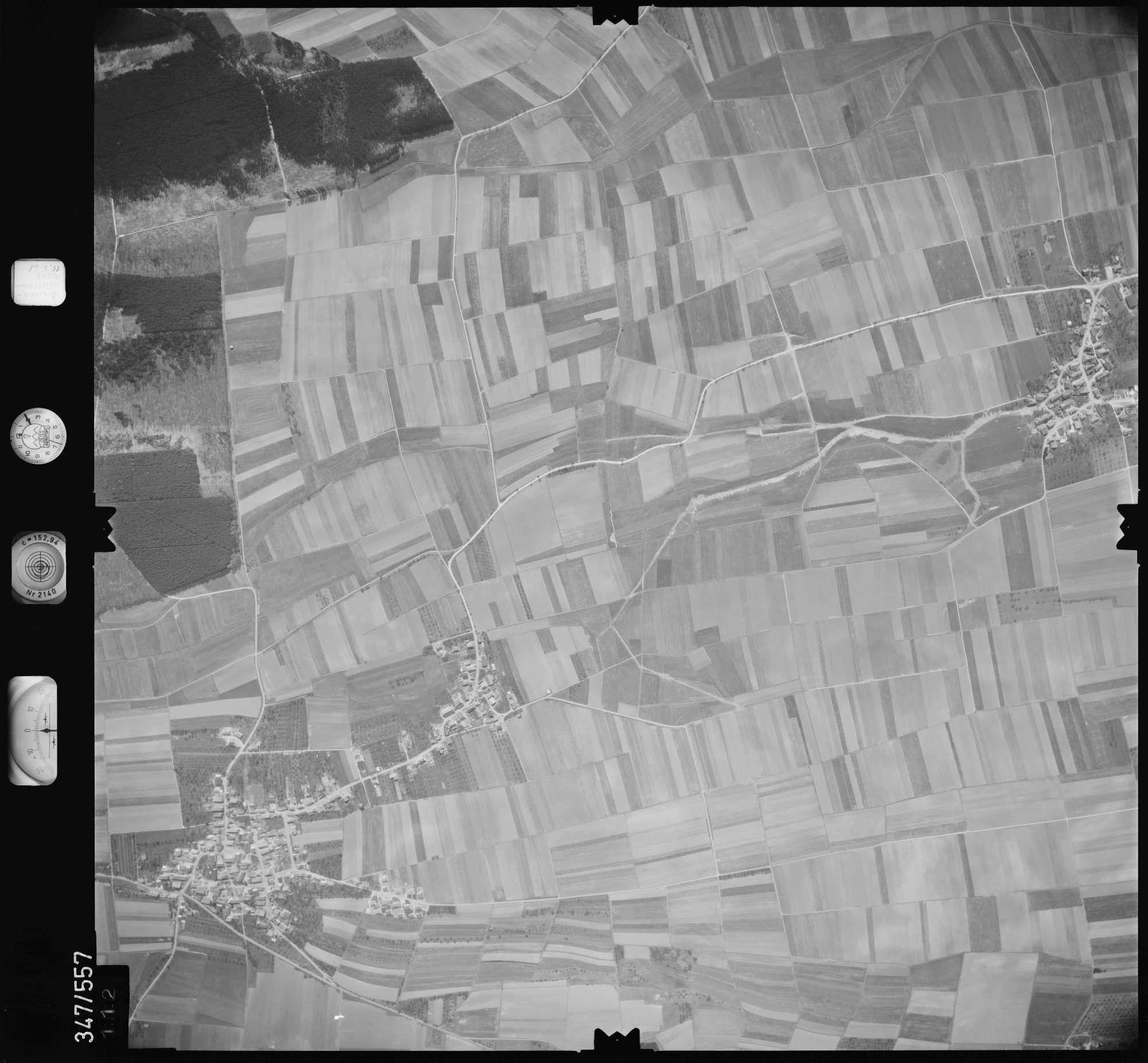 Luftbild: Film 45 Bildnr. 112, Bild 1