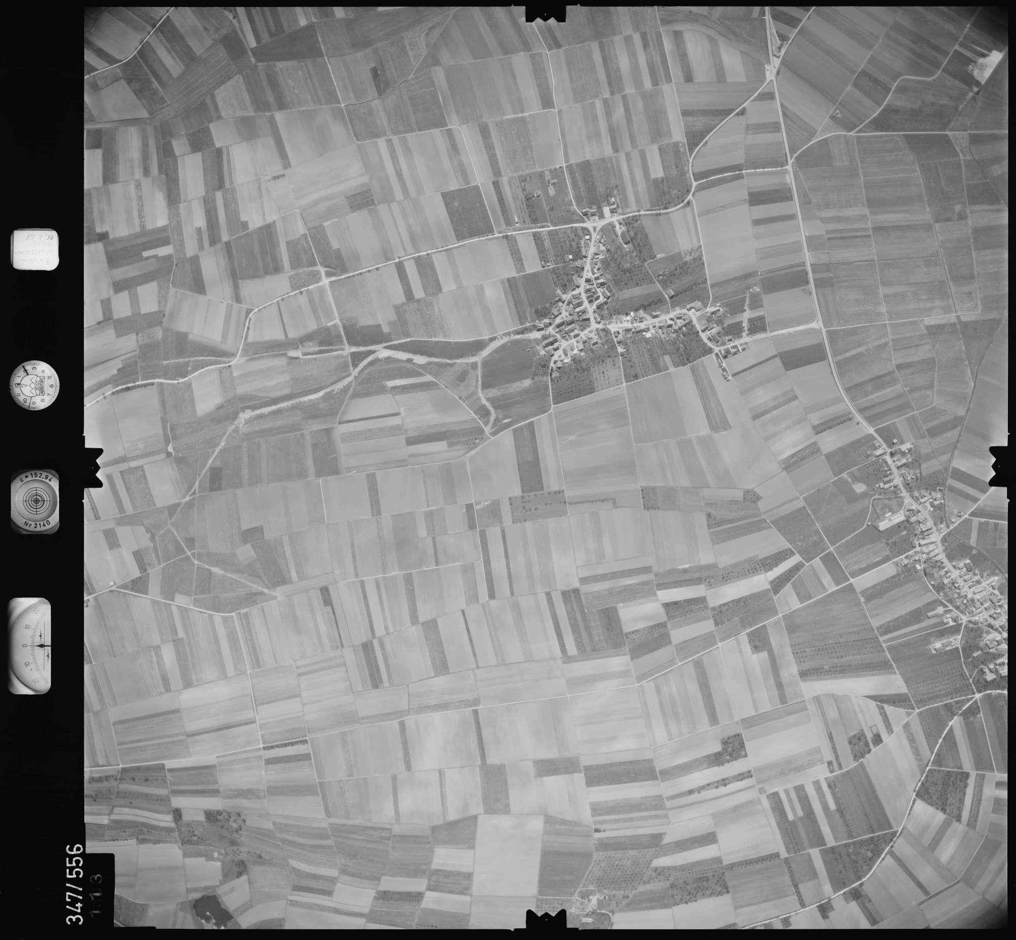 Luftbild: Film 45 Bildnr. 113, Bild 1
