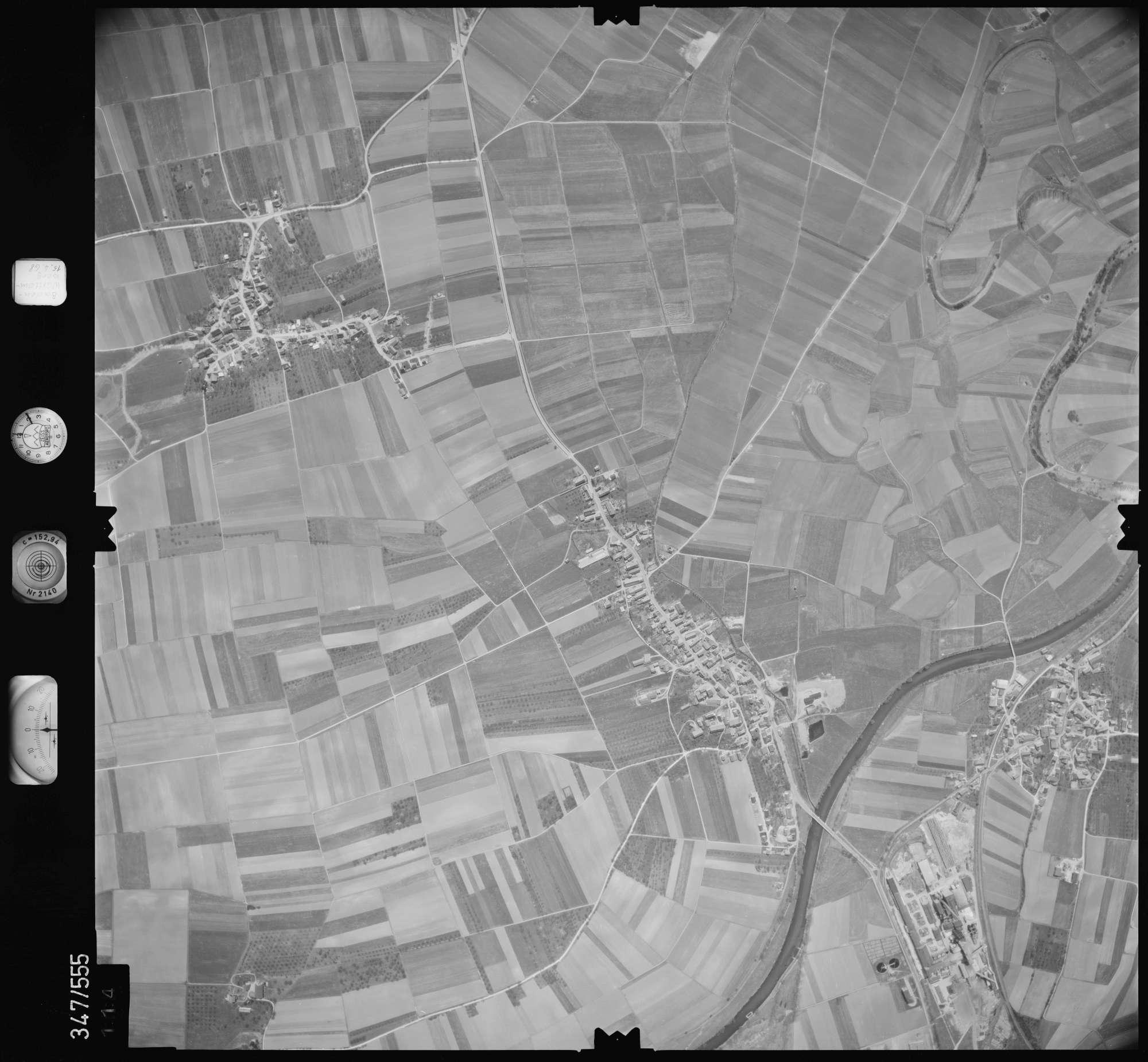 Luftbild: Film 45 Bildnr. 114, Bild 1