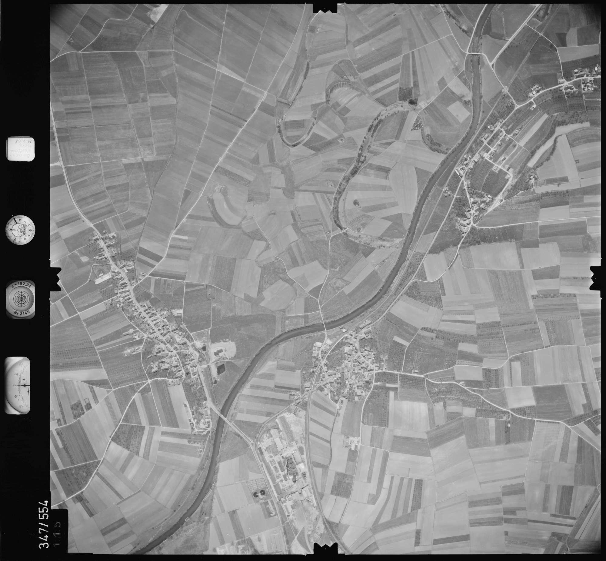 Luftbild: Film 45 Bildnr. 115, Bild 1