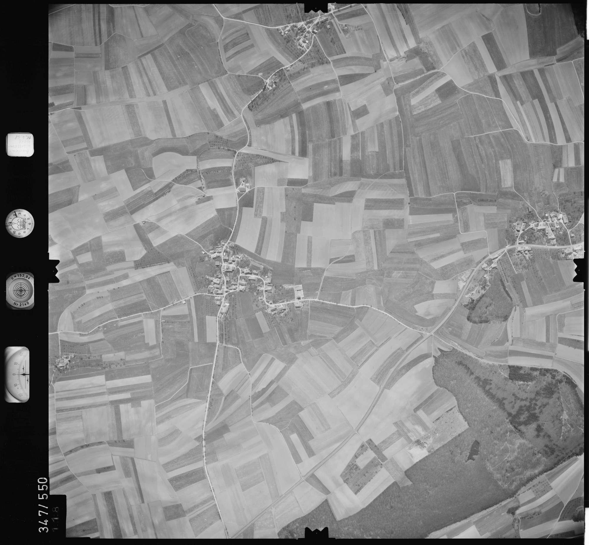 Luftbild: Film 45 Bildnr. 118, Bild 1