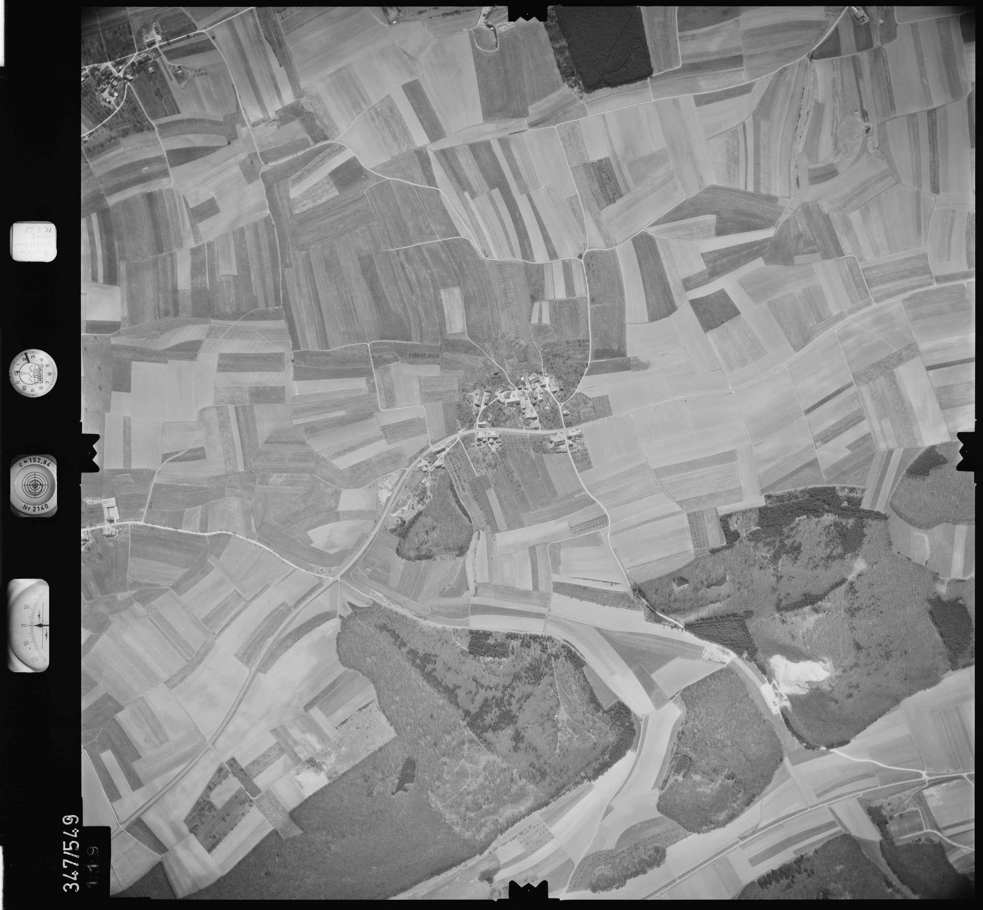 Luftbild: Film 45 Bildnr. 119, Bild 1