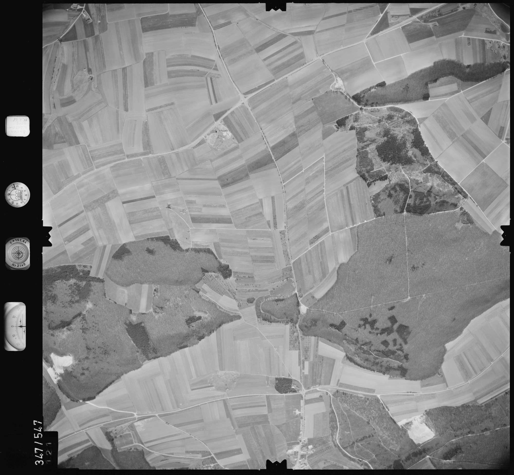Luftbild: Film 45 Bildnr. 121, Bild 1