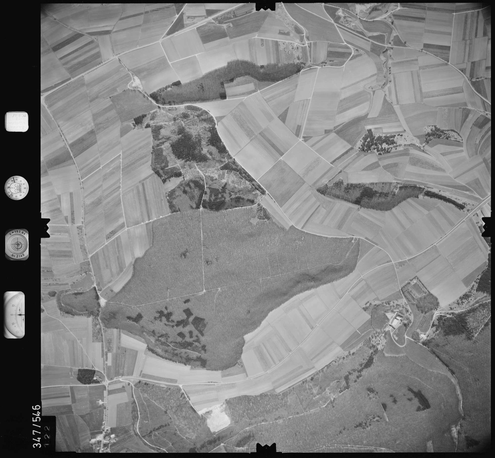 Luftbild: Film 45 Bildnr. 122, Bild 1