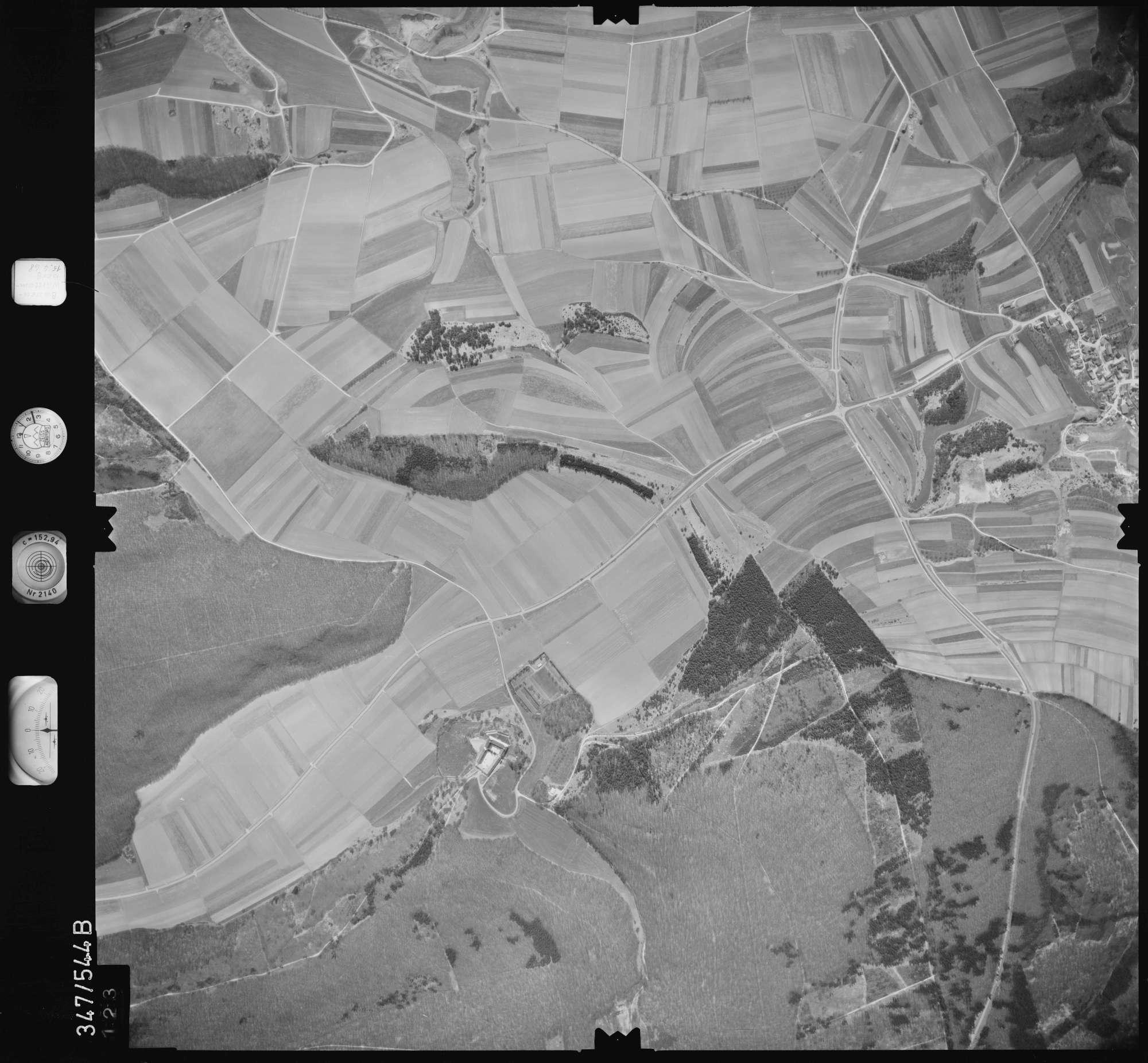Luftbild: Film 45 Bildnr. 123, Bild 1