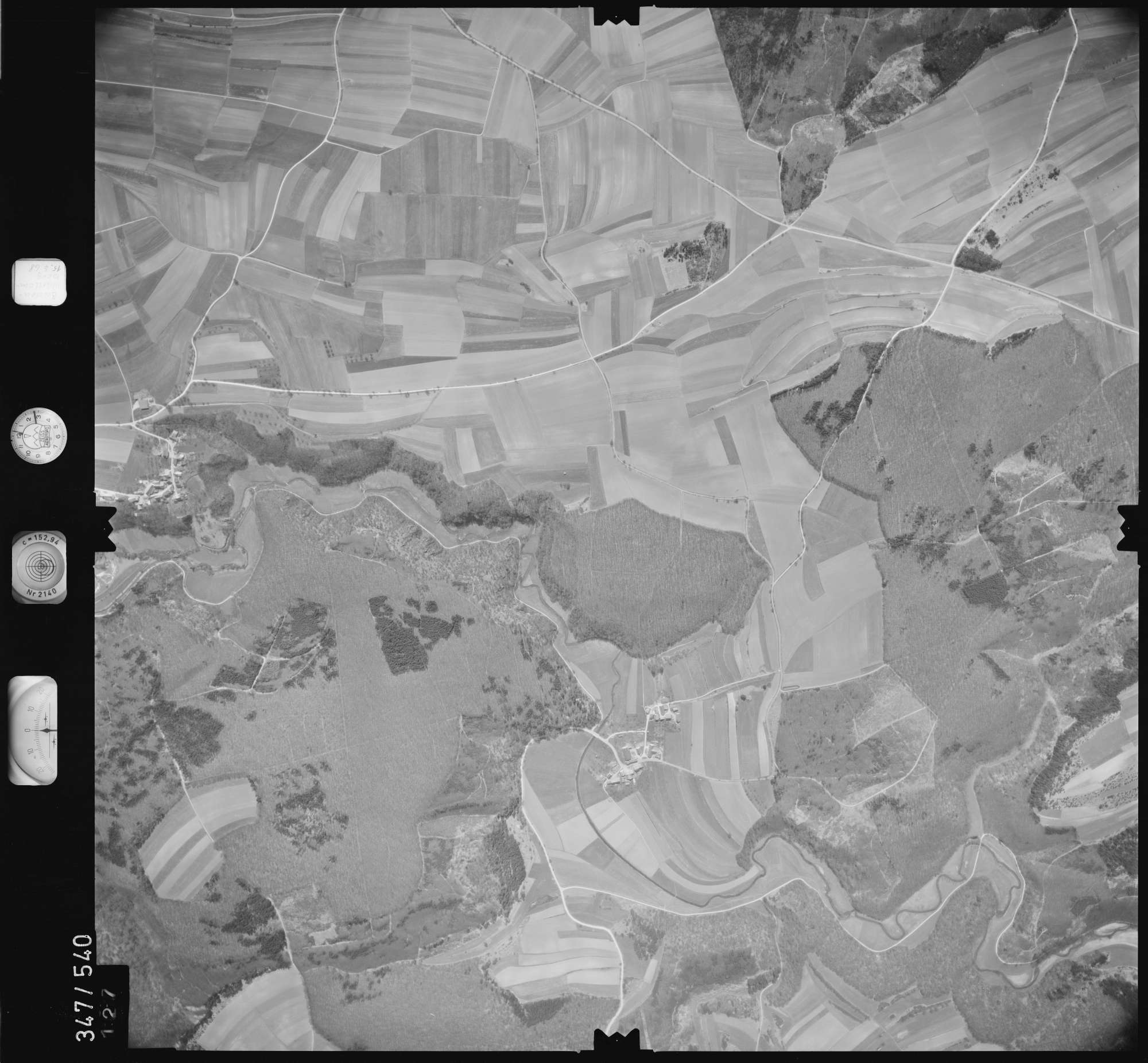 Luftbild: Film 45 Bildnr. 127, Bild 1
