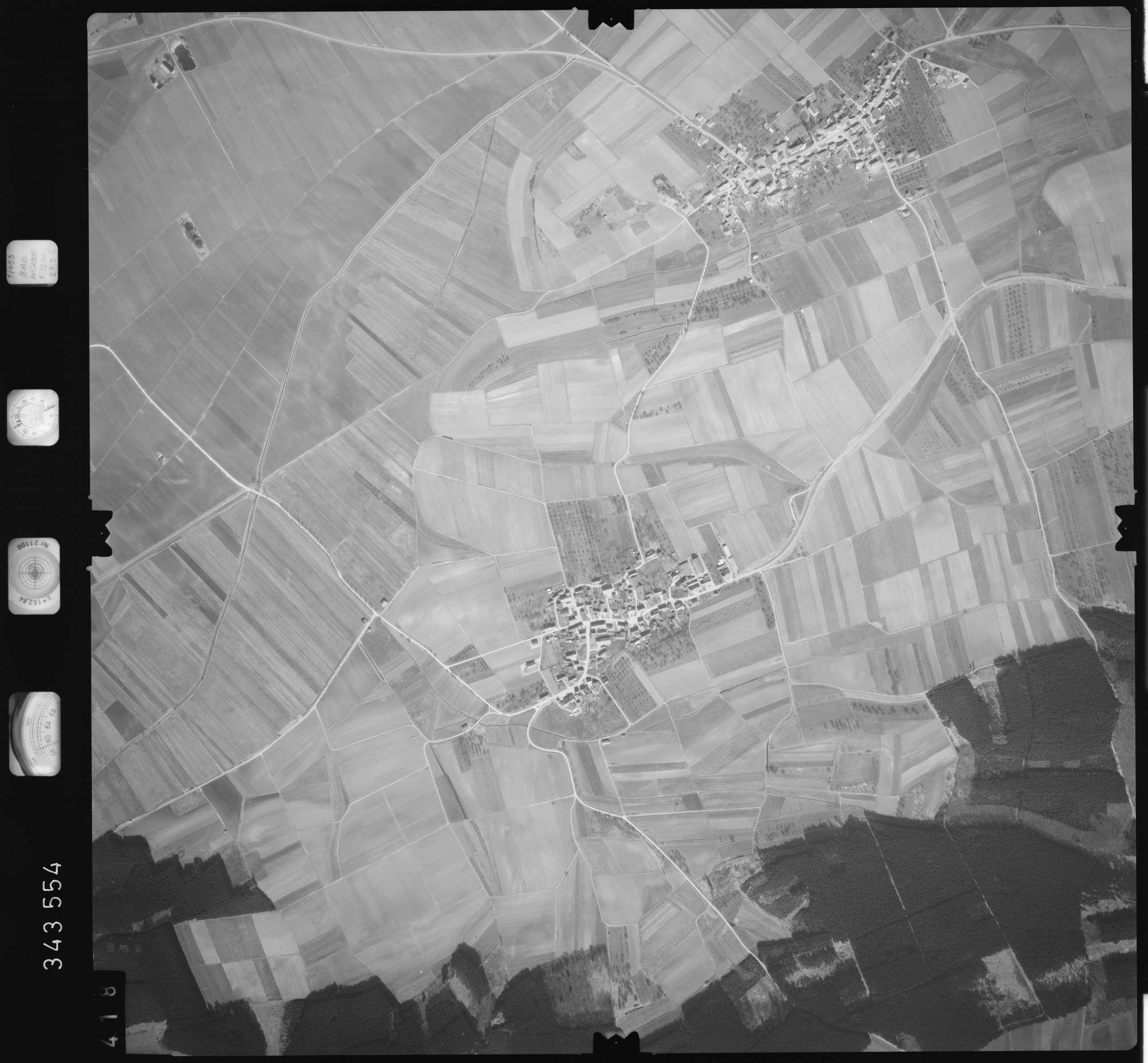 Luftbild: Film 46 Bildnr. 418, Bild 1