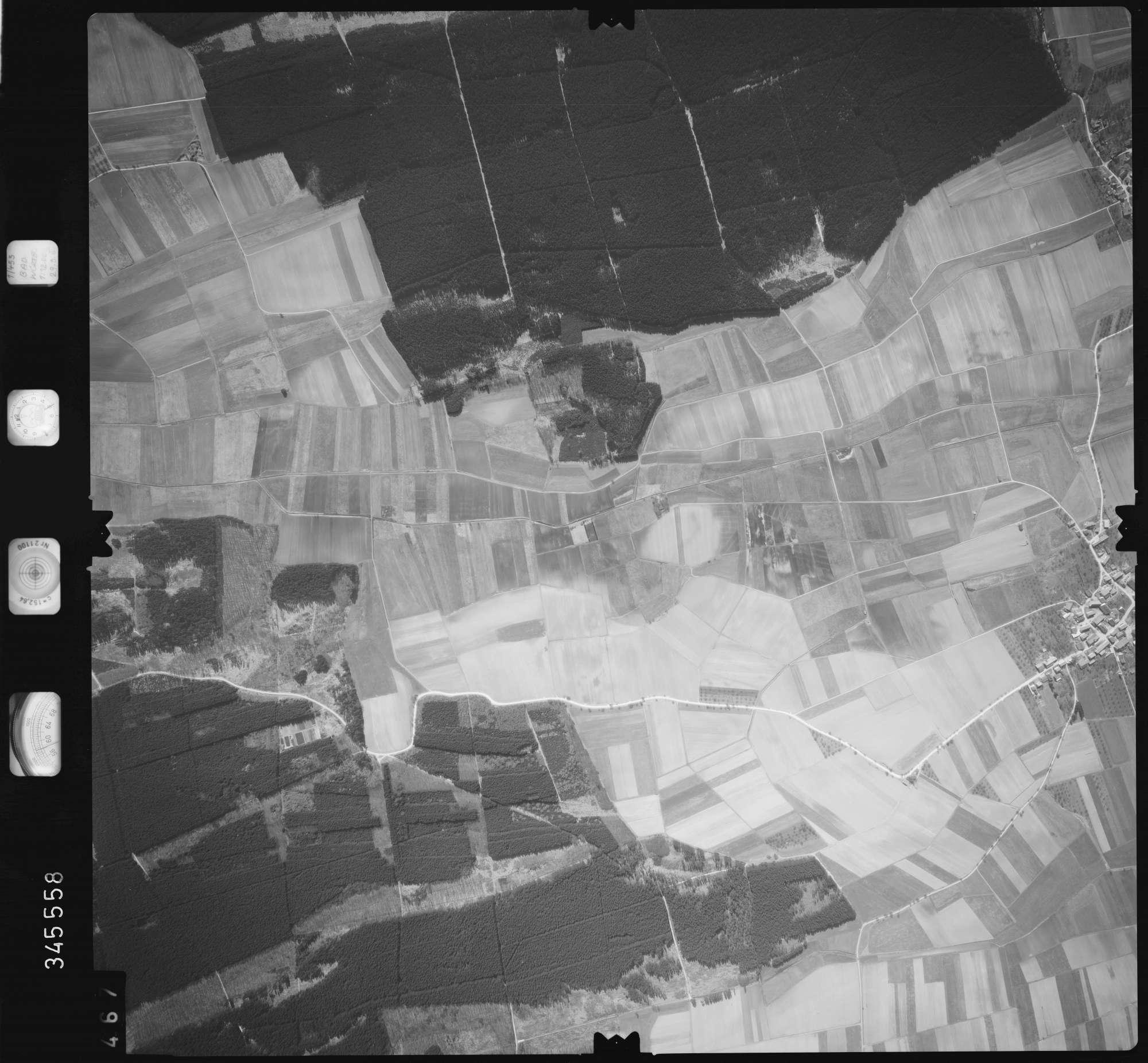 Luftbild: Film 46 Bildnr. 467, Bild 1