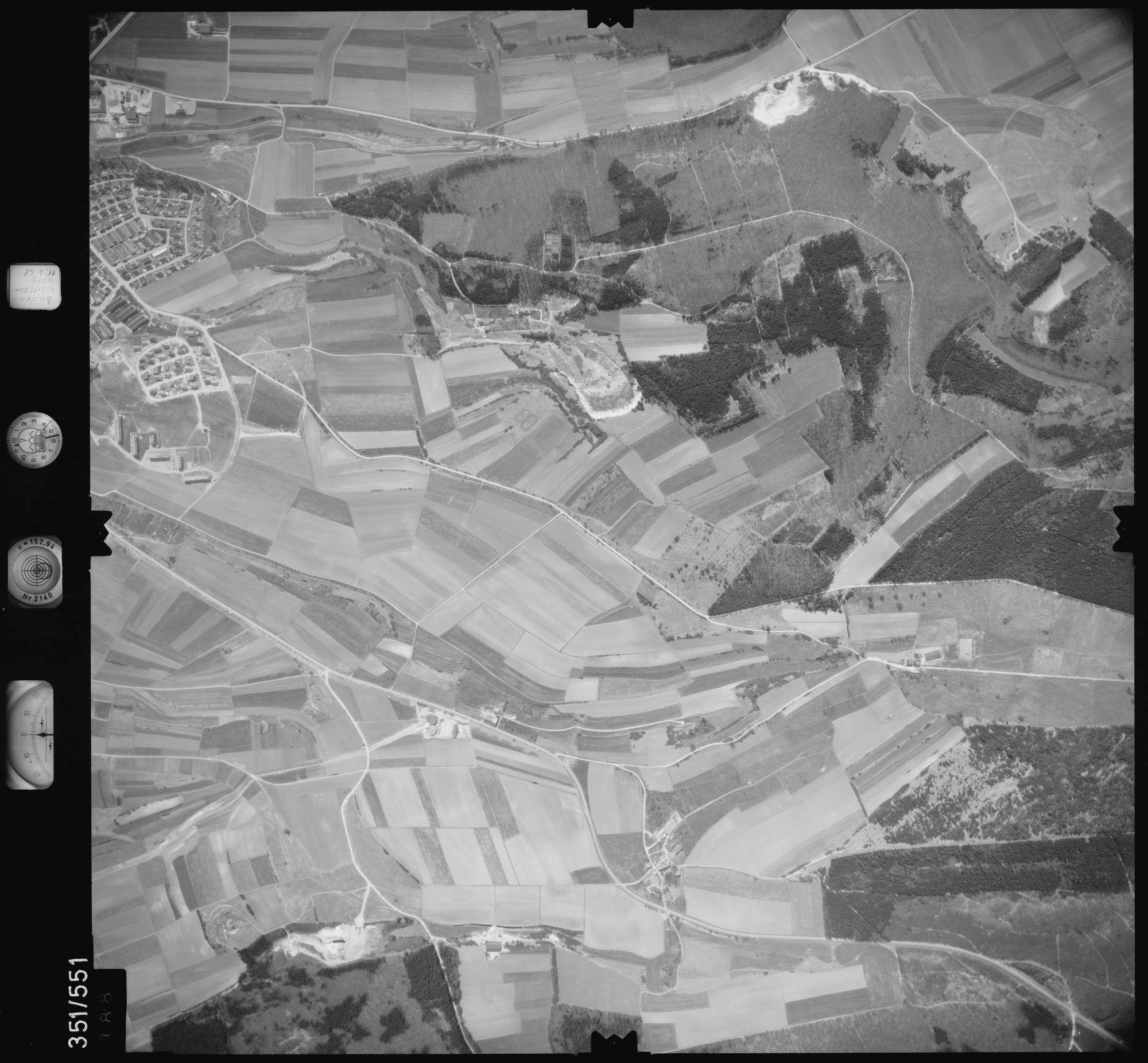 Luftbild: Film 105 Bildnr. 188, Bild 1