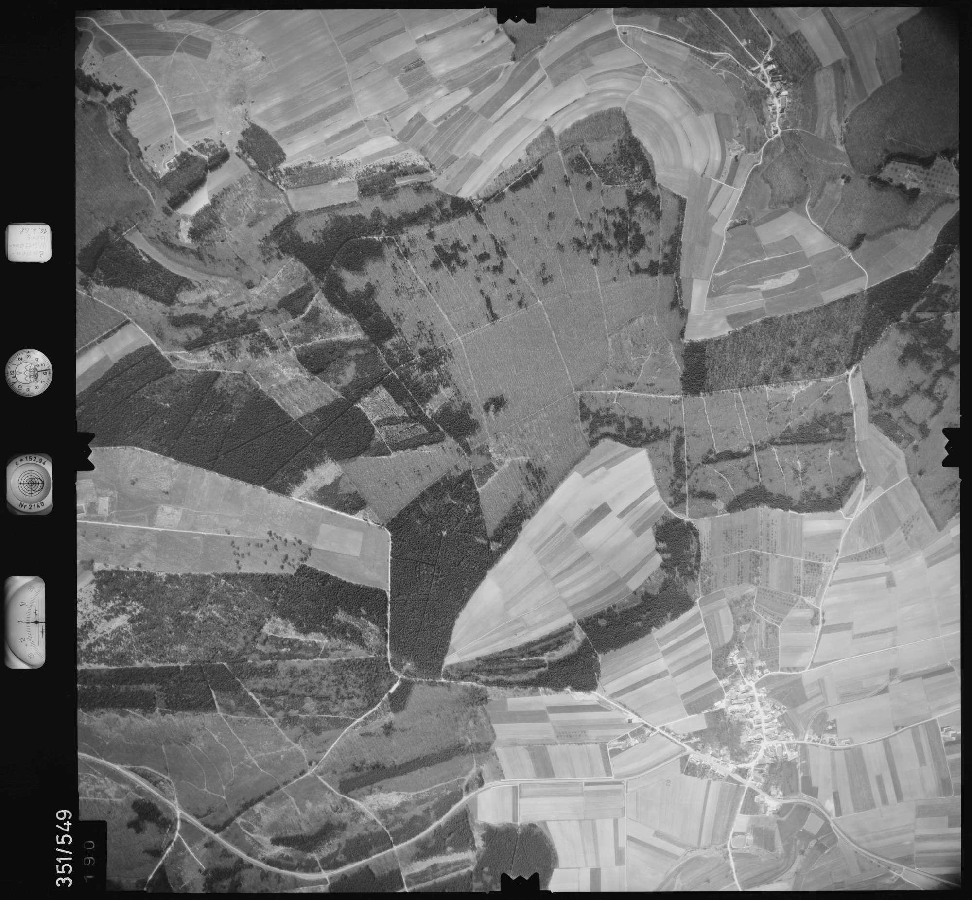Luftbild: Film 105 Bildnr. 190, Bild 1