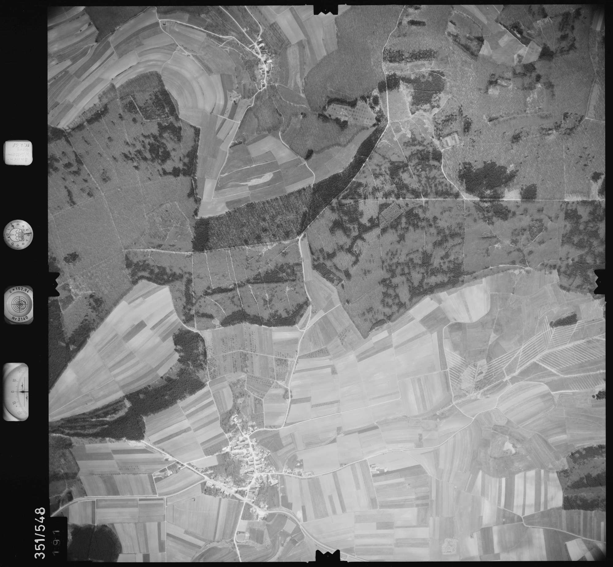 Luftbild: Film 105 Bildnr. 191, Bild 1