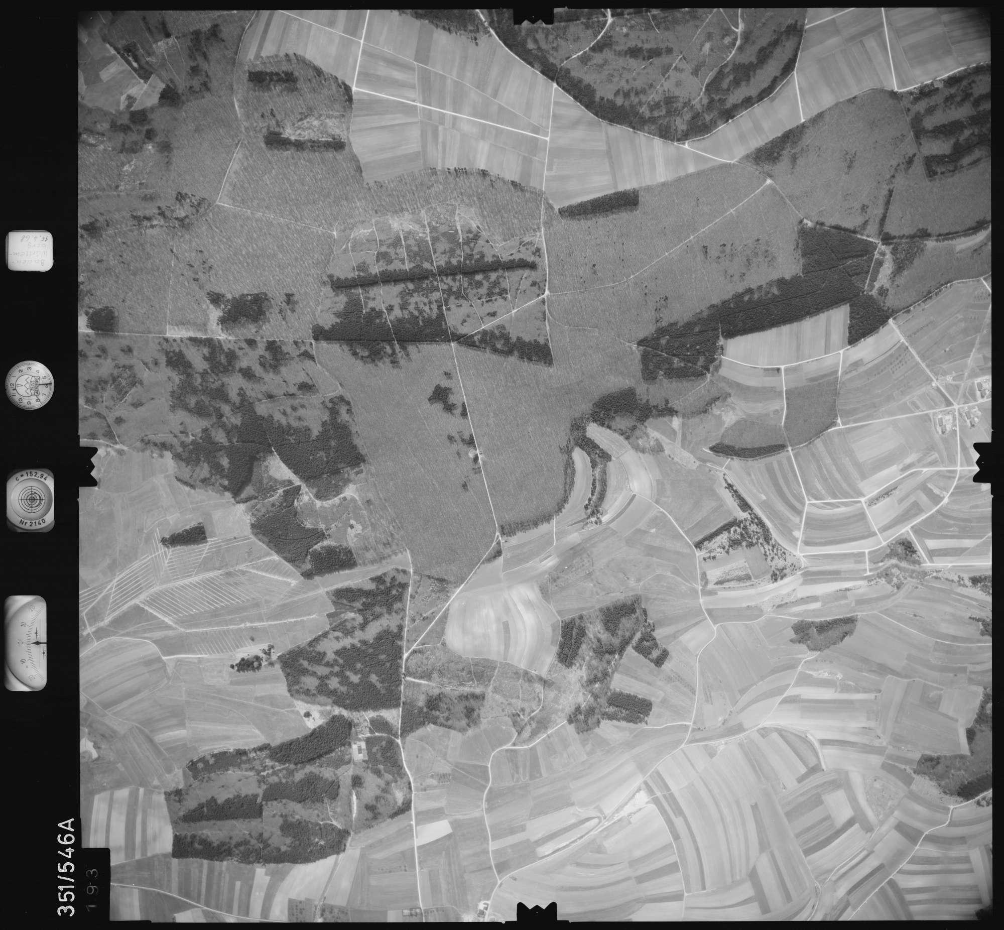 Luftbild: Film 105 Bildnr. 193, Bild 1