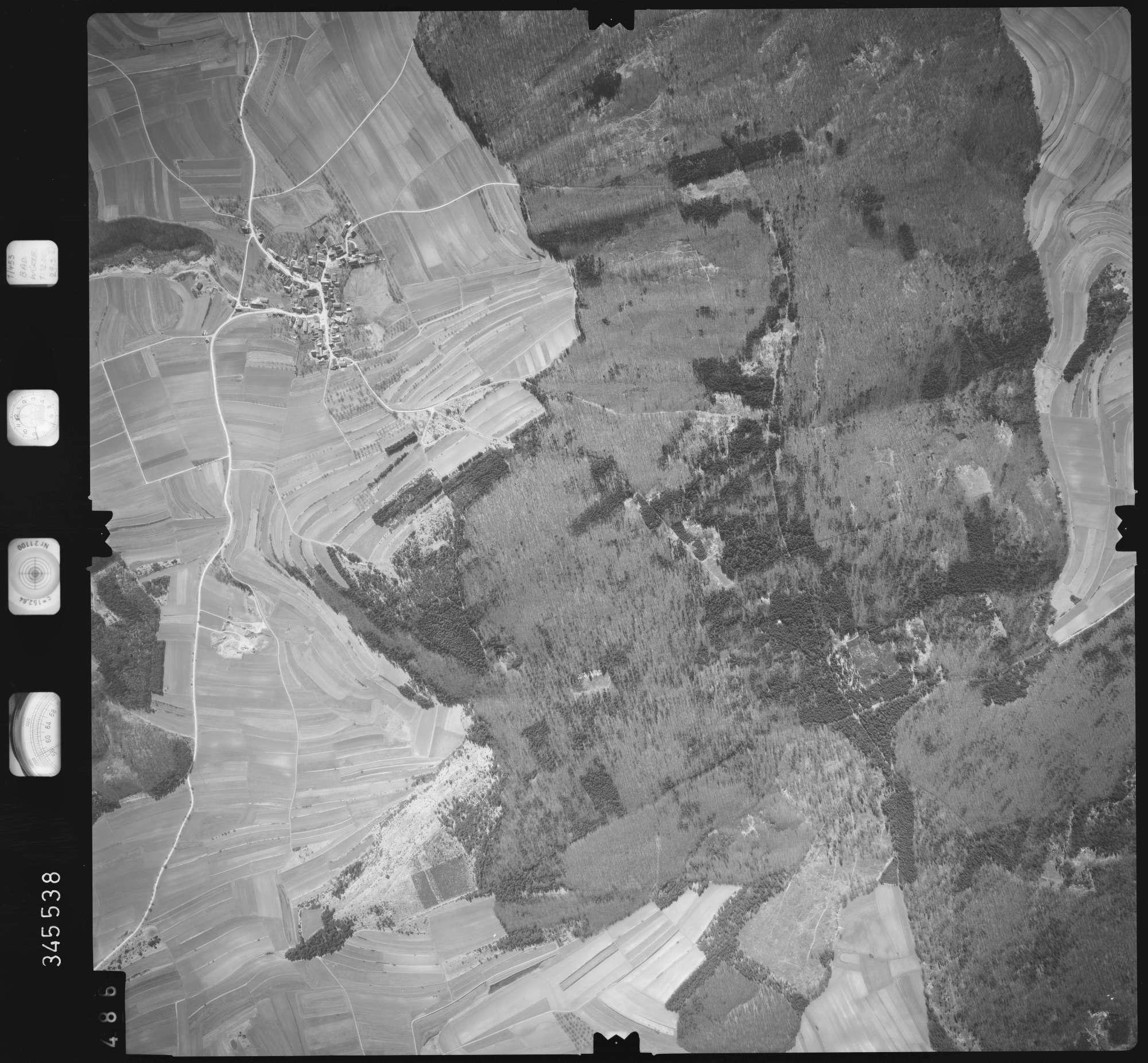 Luftbild: Film 46 Bildnr. 486, Bild 1