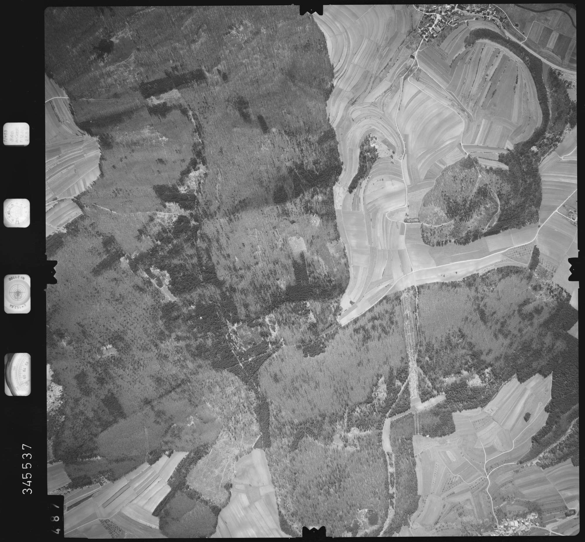 Luftbild: Film 46 Bildnr. 487, Bild 1