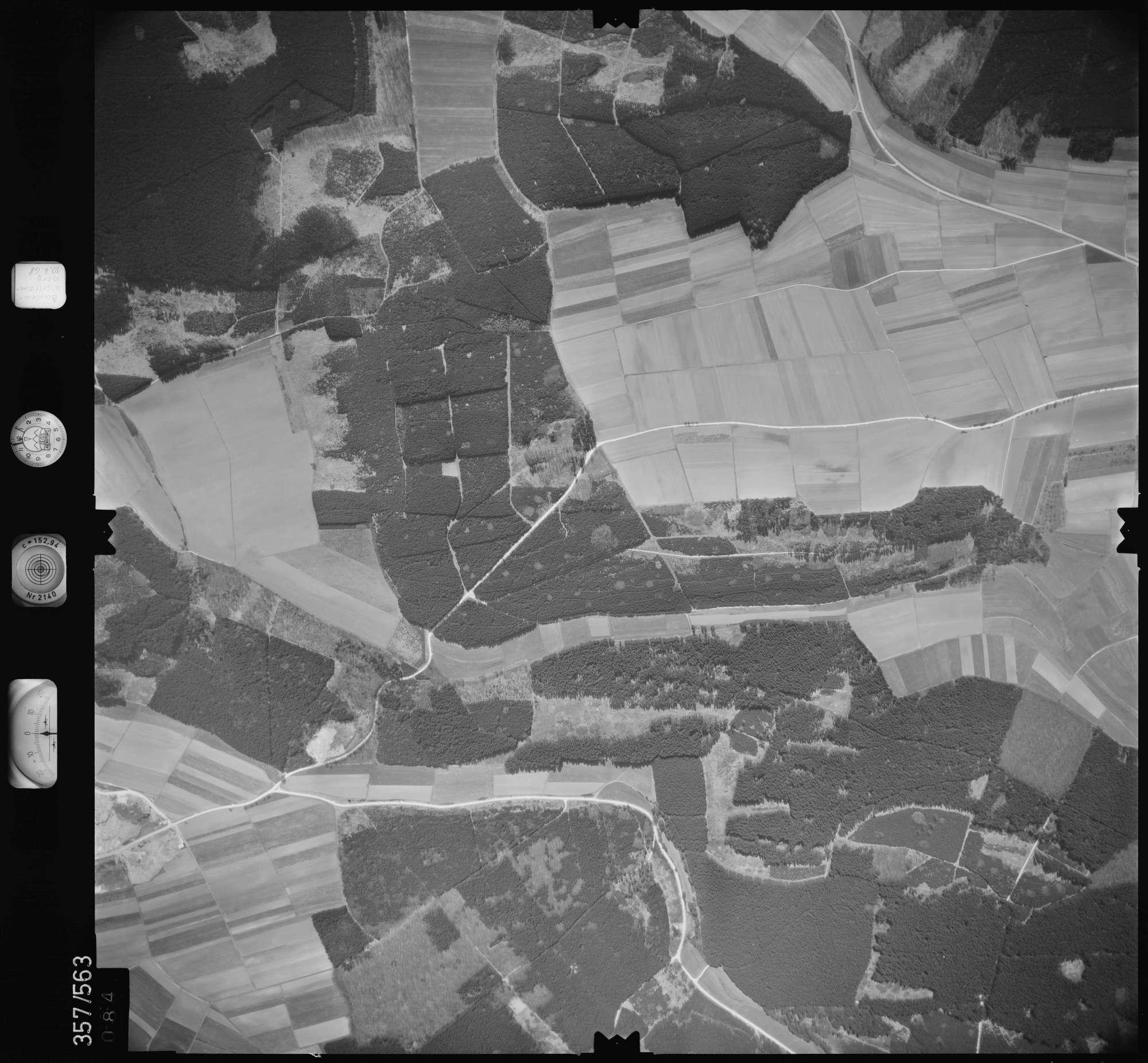 Luftbild: Film 38 Bildnr. 84, Bild 1