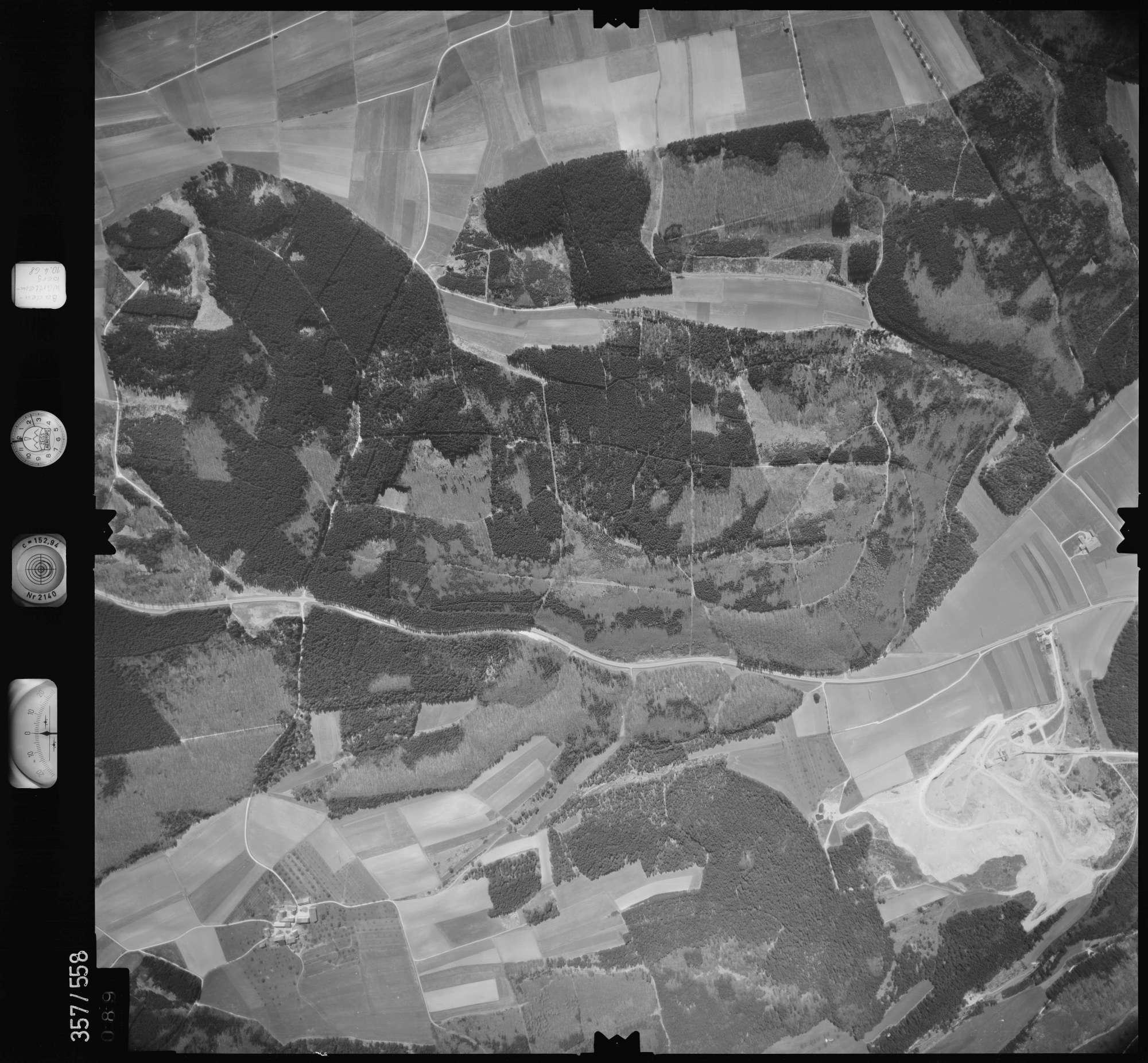 Luftbild: Film 38 Bildnr. 89, Bild 1