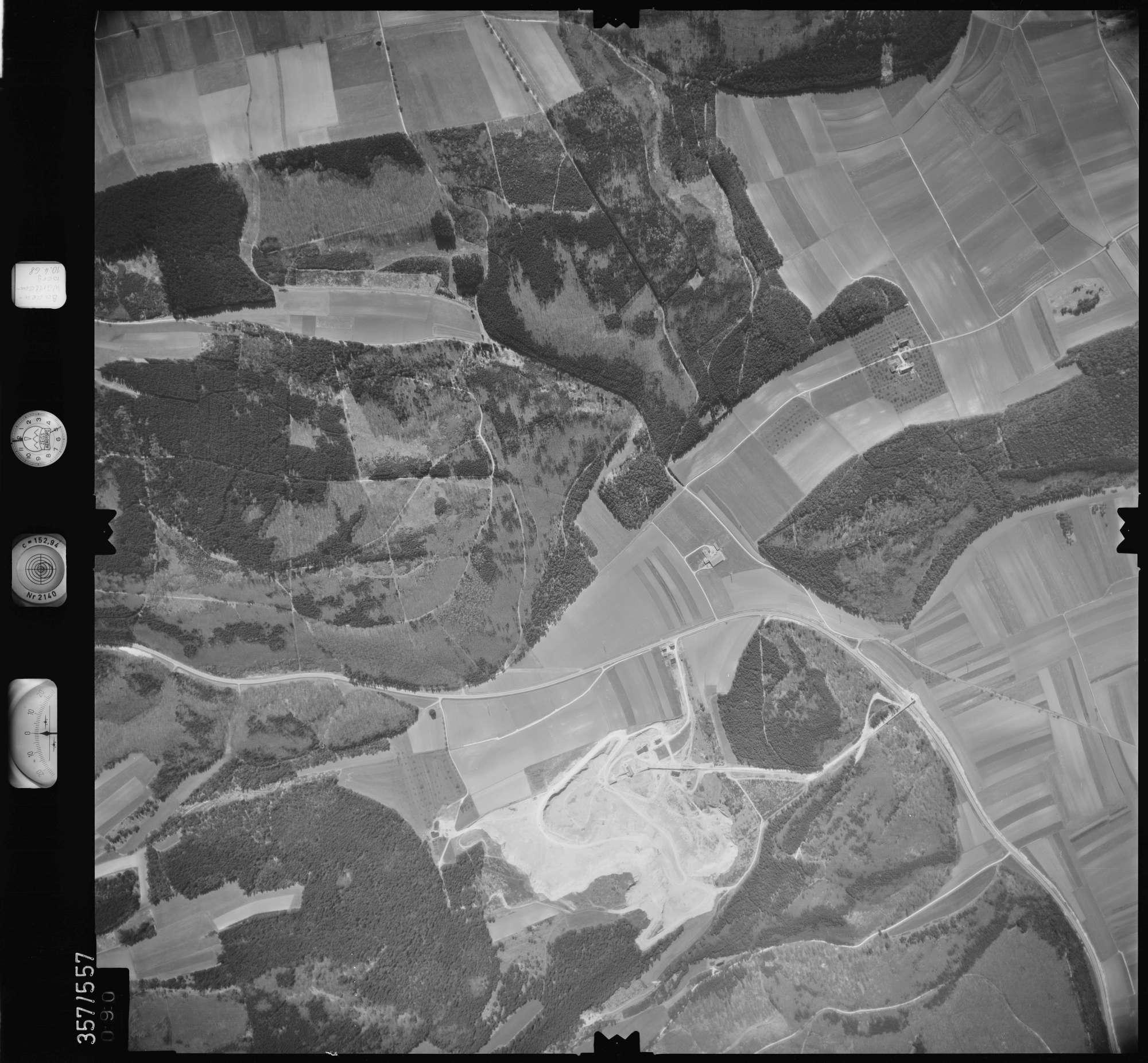 Luftbild: Film 38 Bildnr. 90, Bild 1
