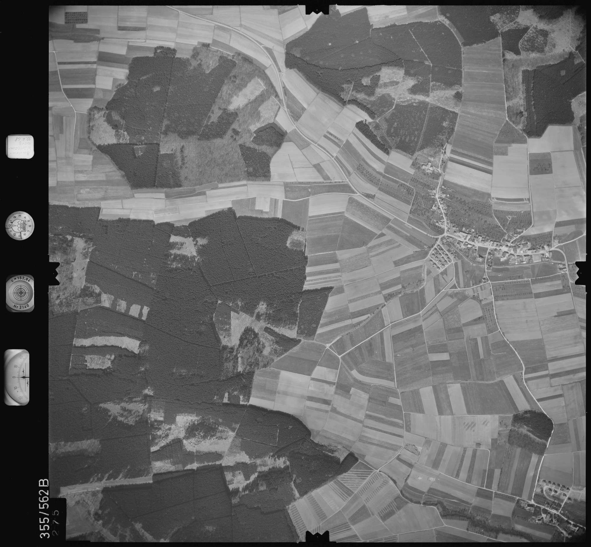Luftbild: Film 38 Bildnr. 275, Bild 1