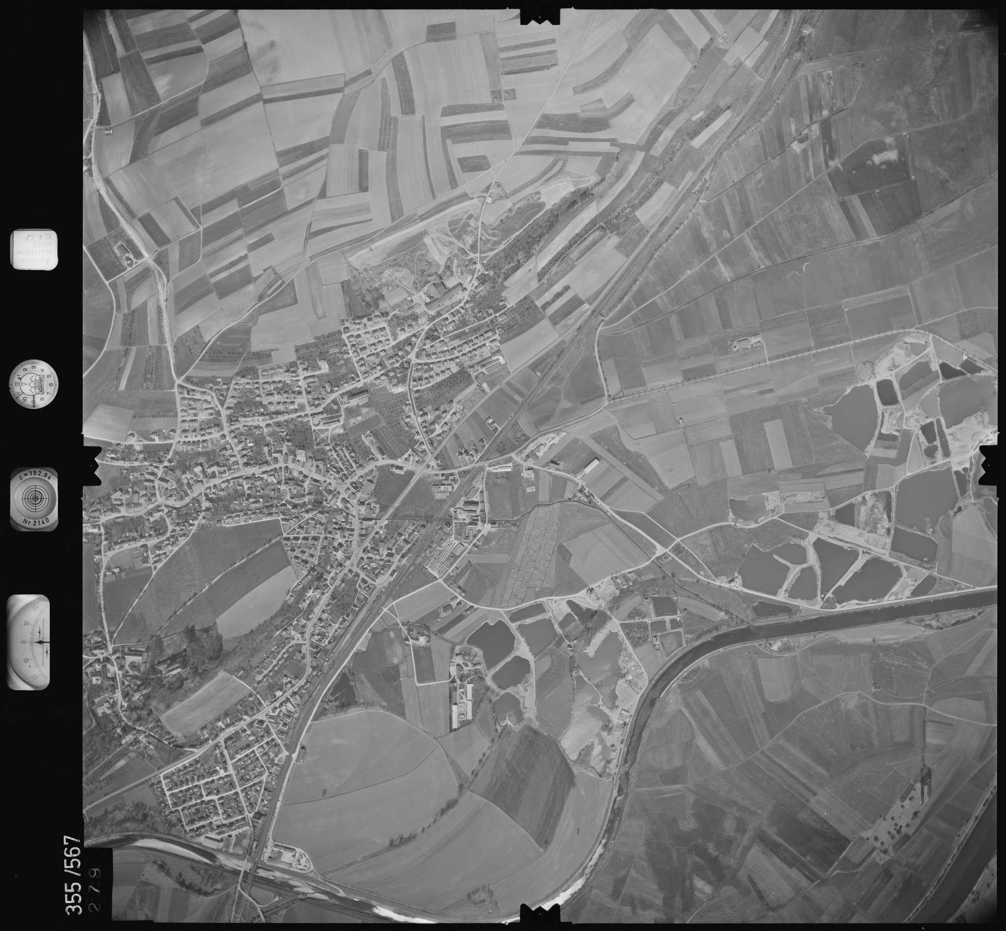 Luftbild: Film 38 Bildnr. 279, Bild 1