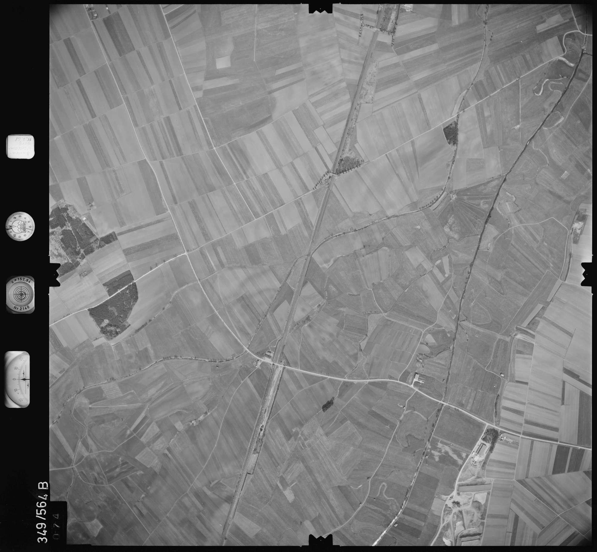 Luftbild: Film 45 Bildnr. 74, Bild 1