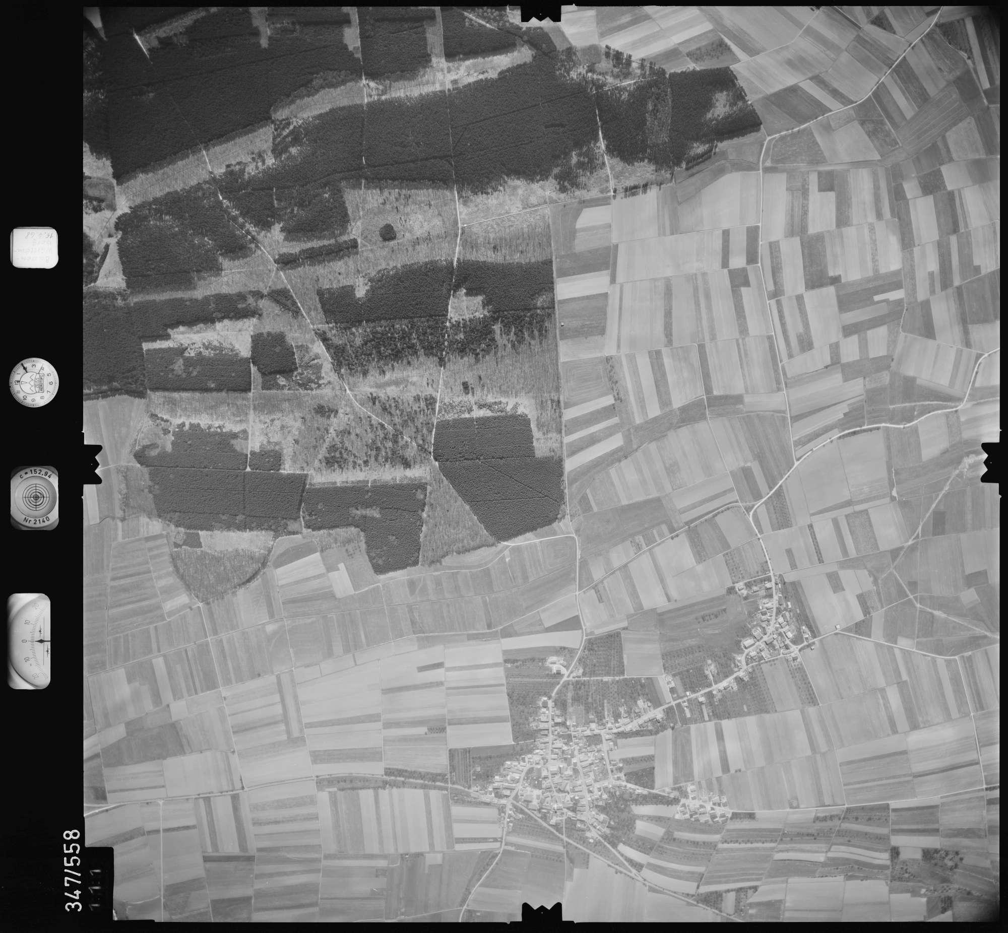 Luftbild: Film 45 Bildnr. 111, Bild 1
