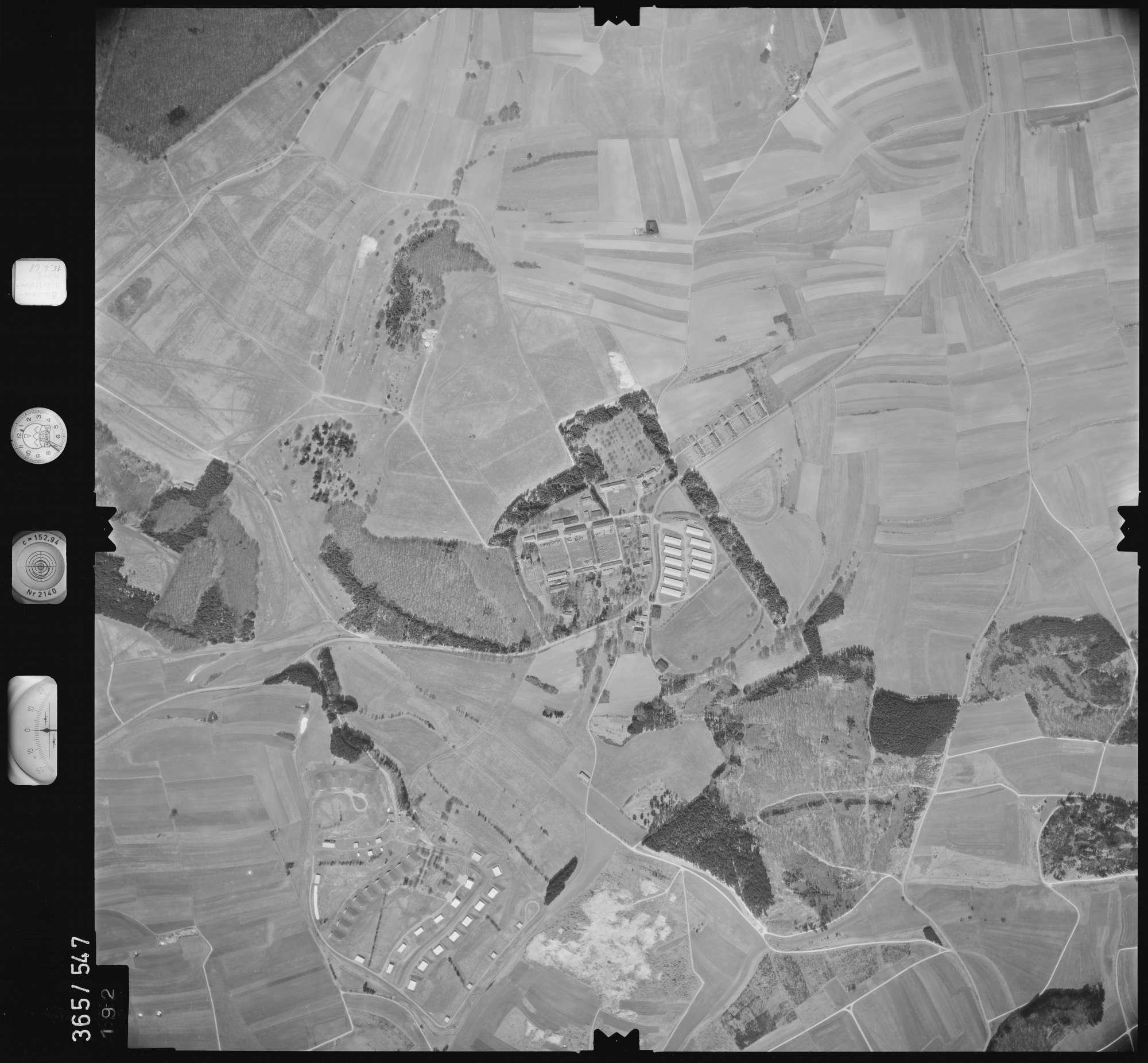 Luftbild: Film 45 Bildnr. 192, Bild 1