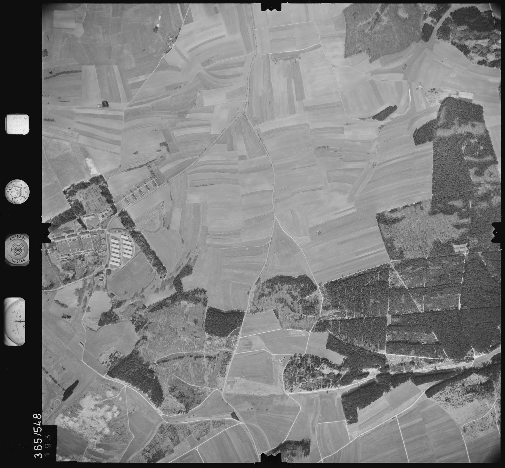Luftbild: Film 45 Bildnr. 193, Bild 1