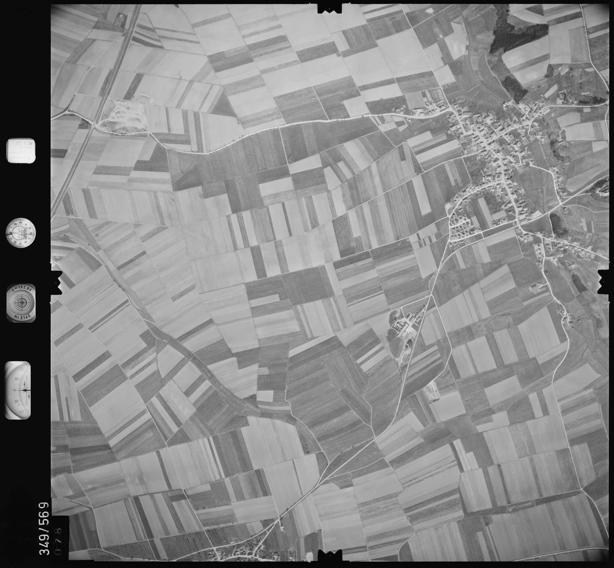 Luftbild: Film 45 Bildnr. 78, Bild 1
