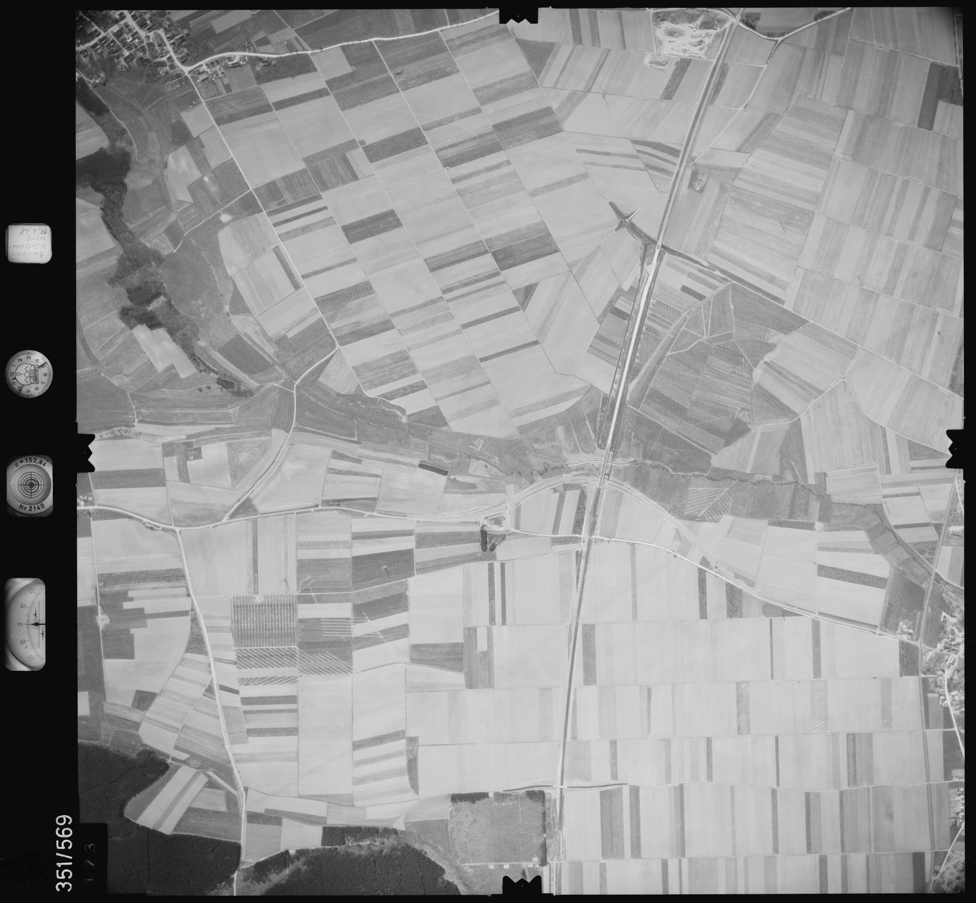 Luftbild: Film 105 Bildnr. 173, Bild 1