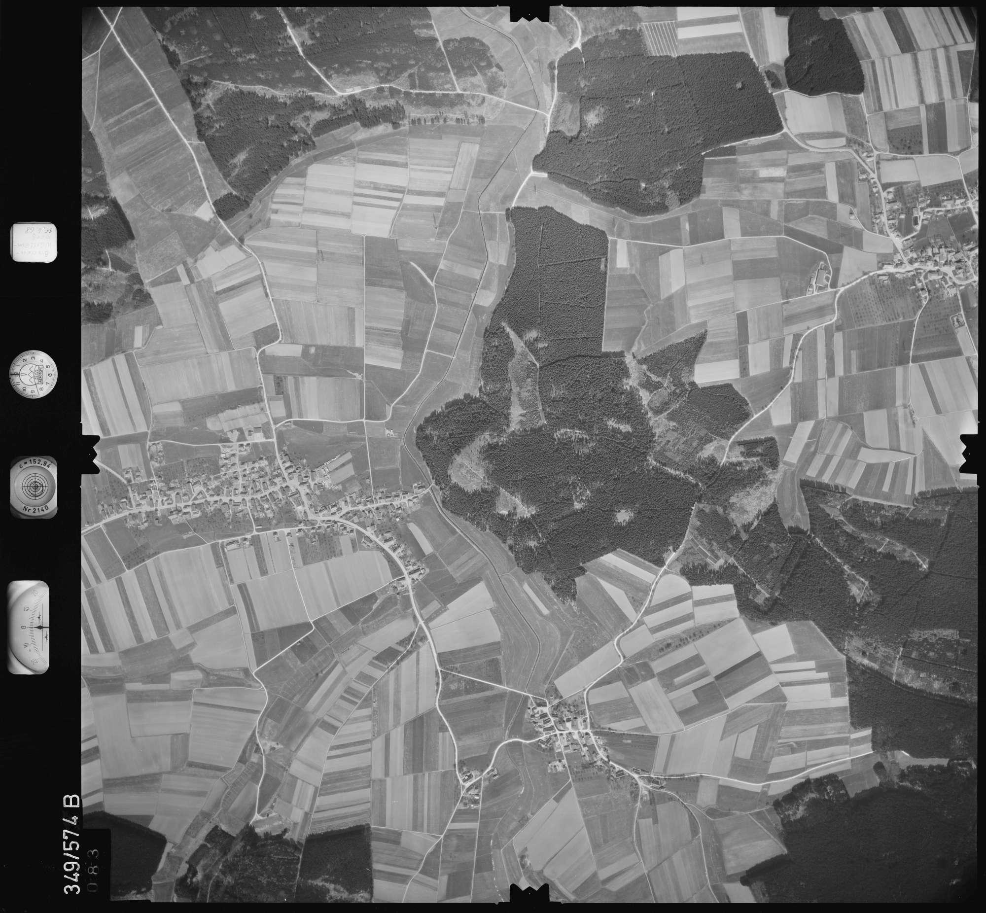 Luftbild: Film 45 Bildnr. 83, Bild 1