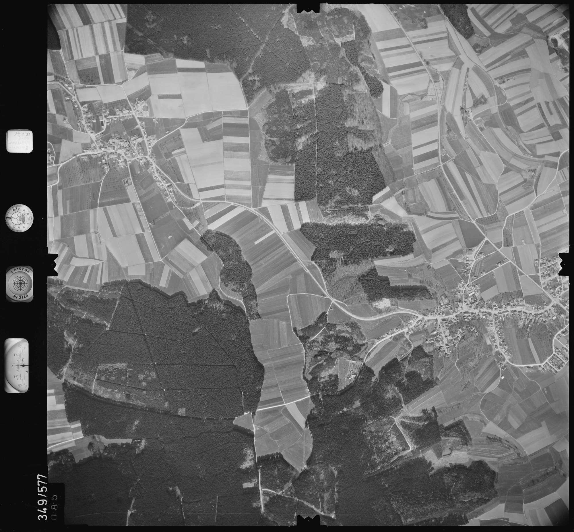 Luftbild: Film 45 Bildnr. 85, Bild 1