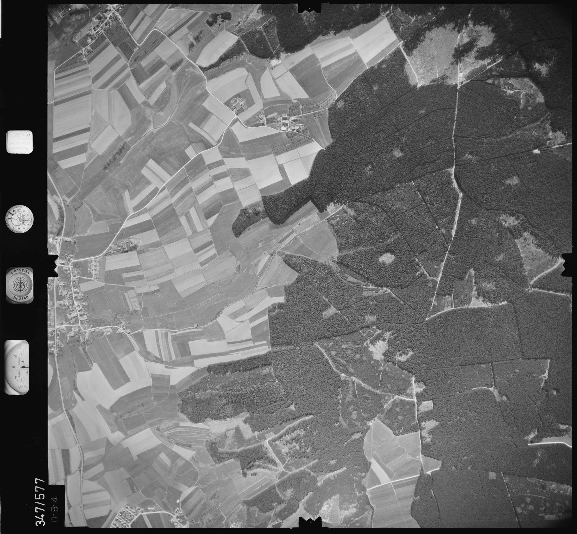 Luftbild: Film 45 Bildnr. 94, Bild 1