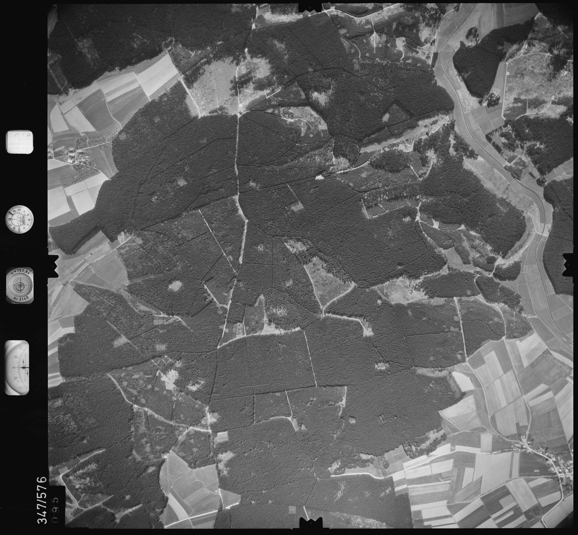 Luftbild: Film 45 Bildnr. 95, Bild 1