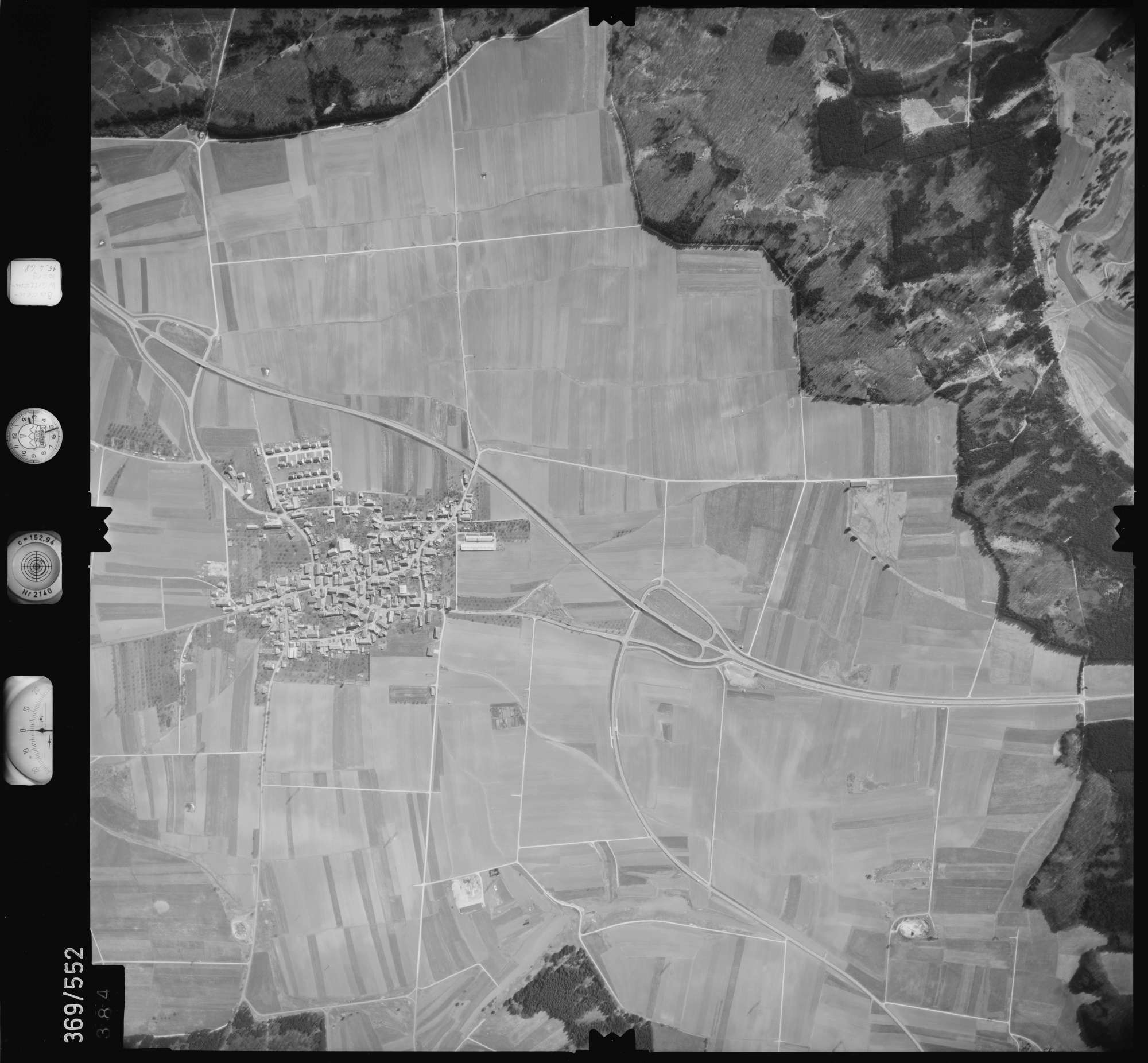 Luftbild: Film 34 Bildnr. 384, Bild 1