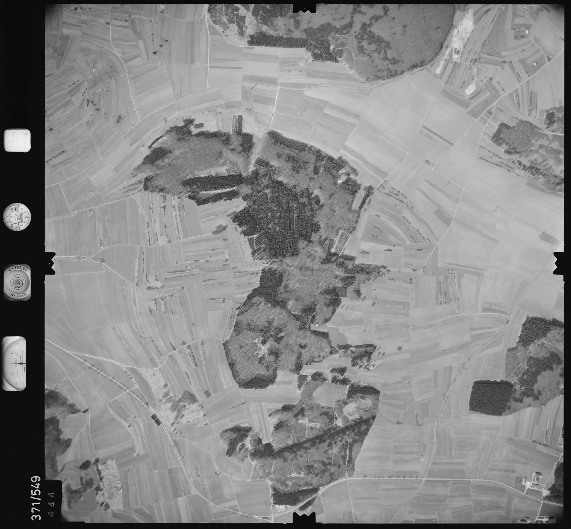 Luftbild: Film 34 Bildnr. 444, Bild 1