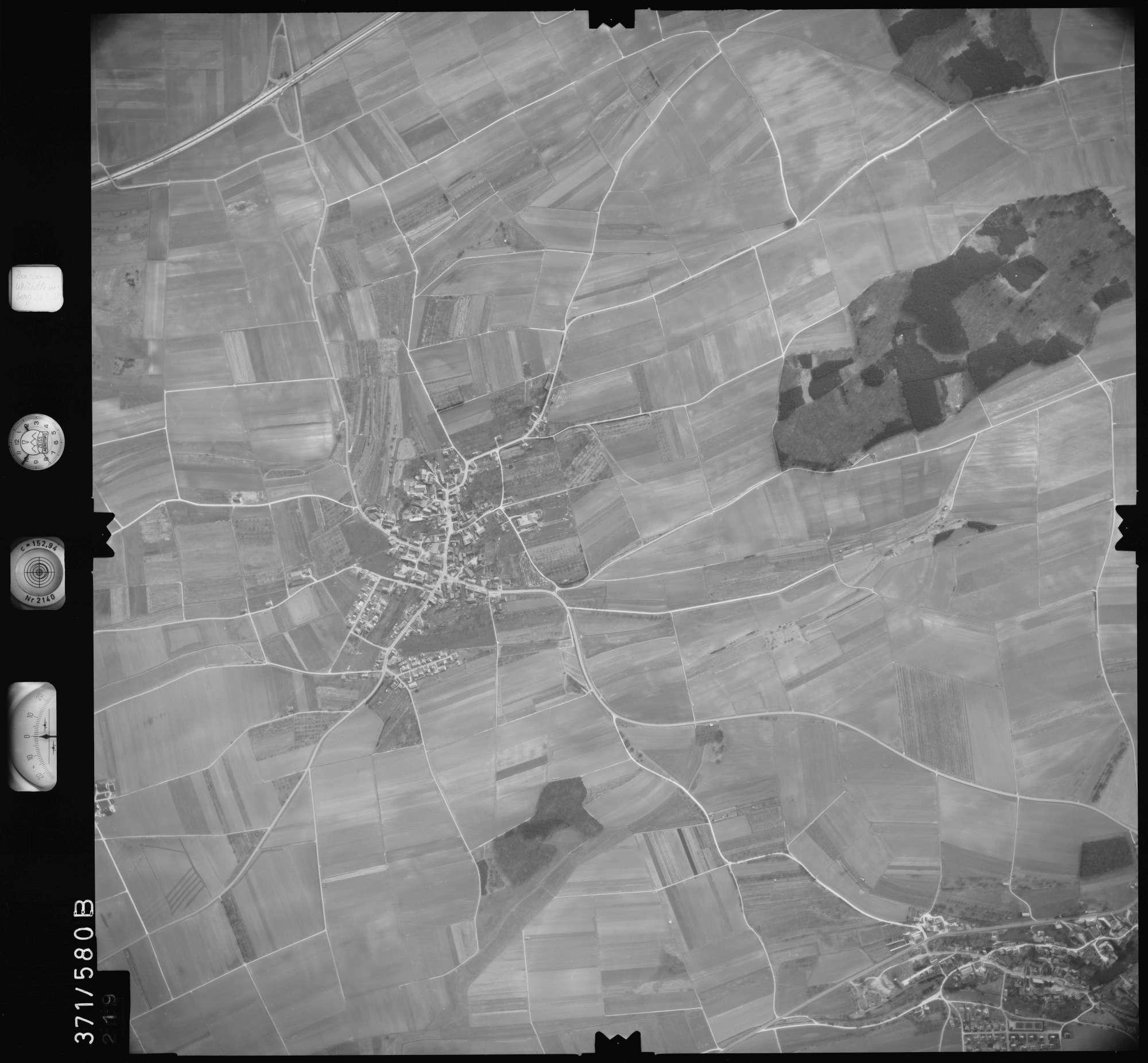 Luftbild: Film 35 Bildnr. 219, Bild 1