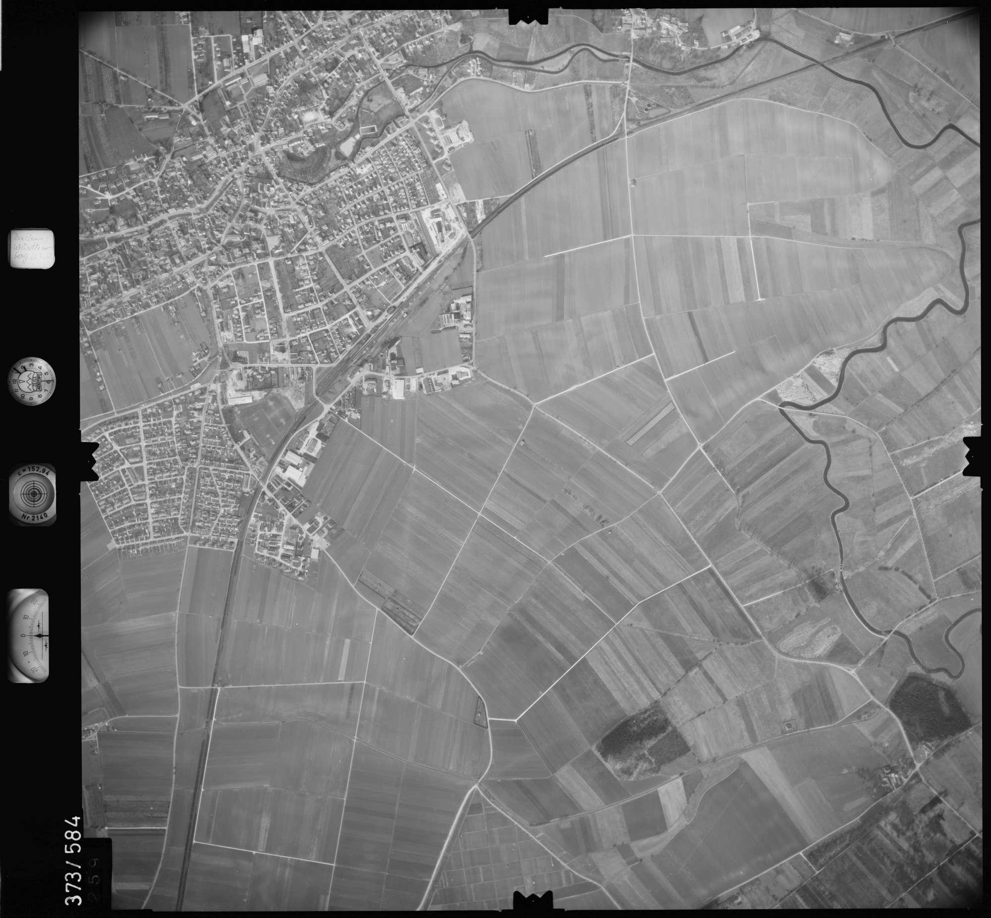 Luftbild: Film 35 Bildnr. 259, Bild 1