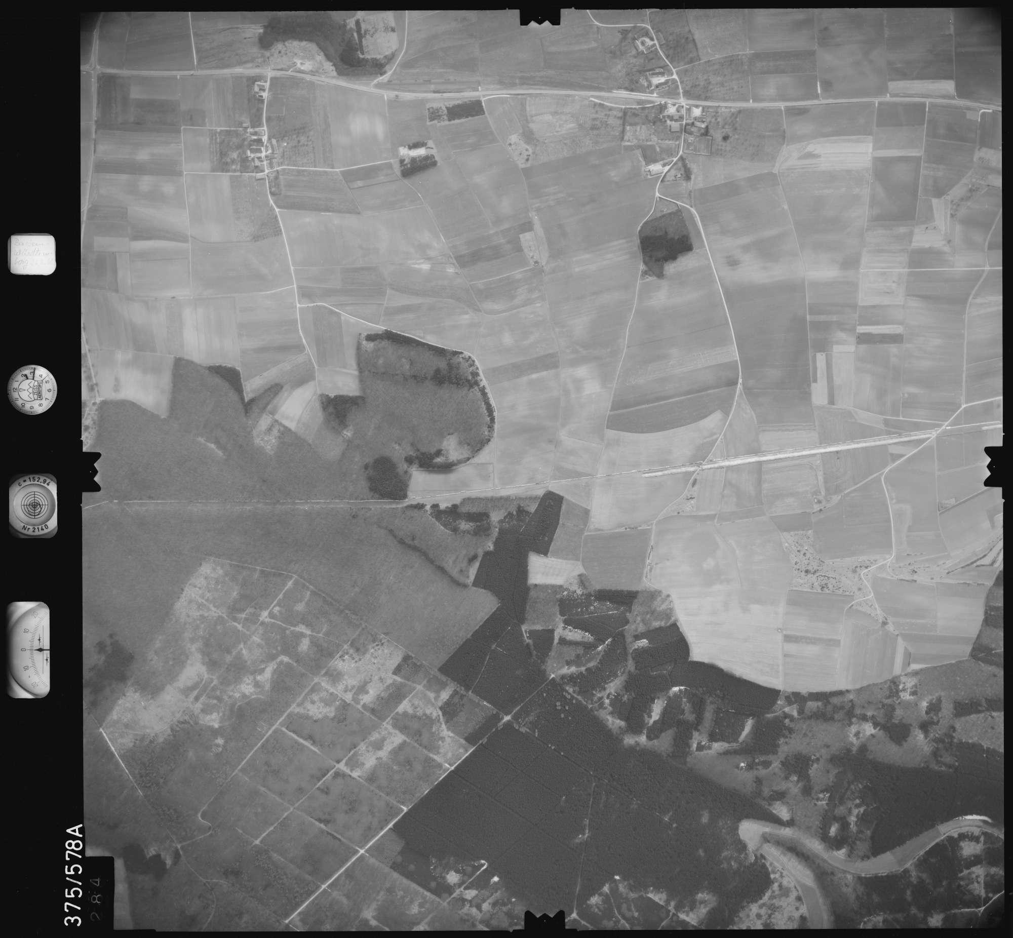Luftbild: Film 35 Bildnr. 284, Bild 1